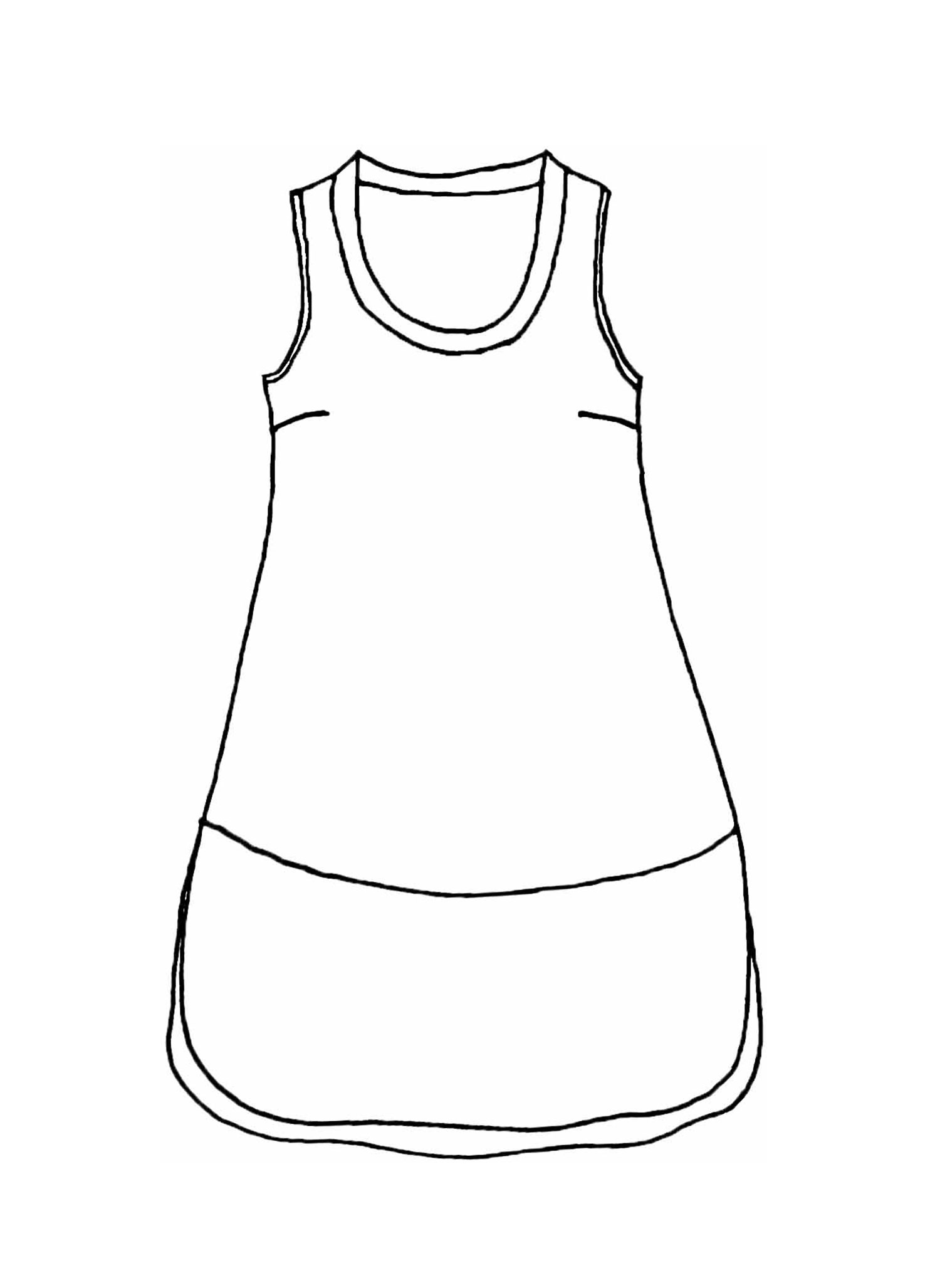 Rosy Dress sketch image