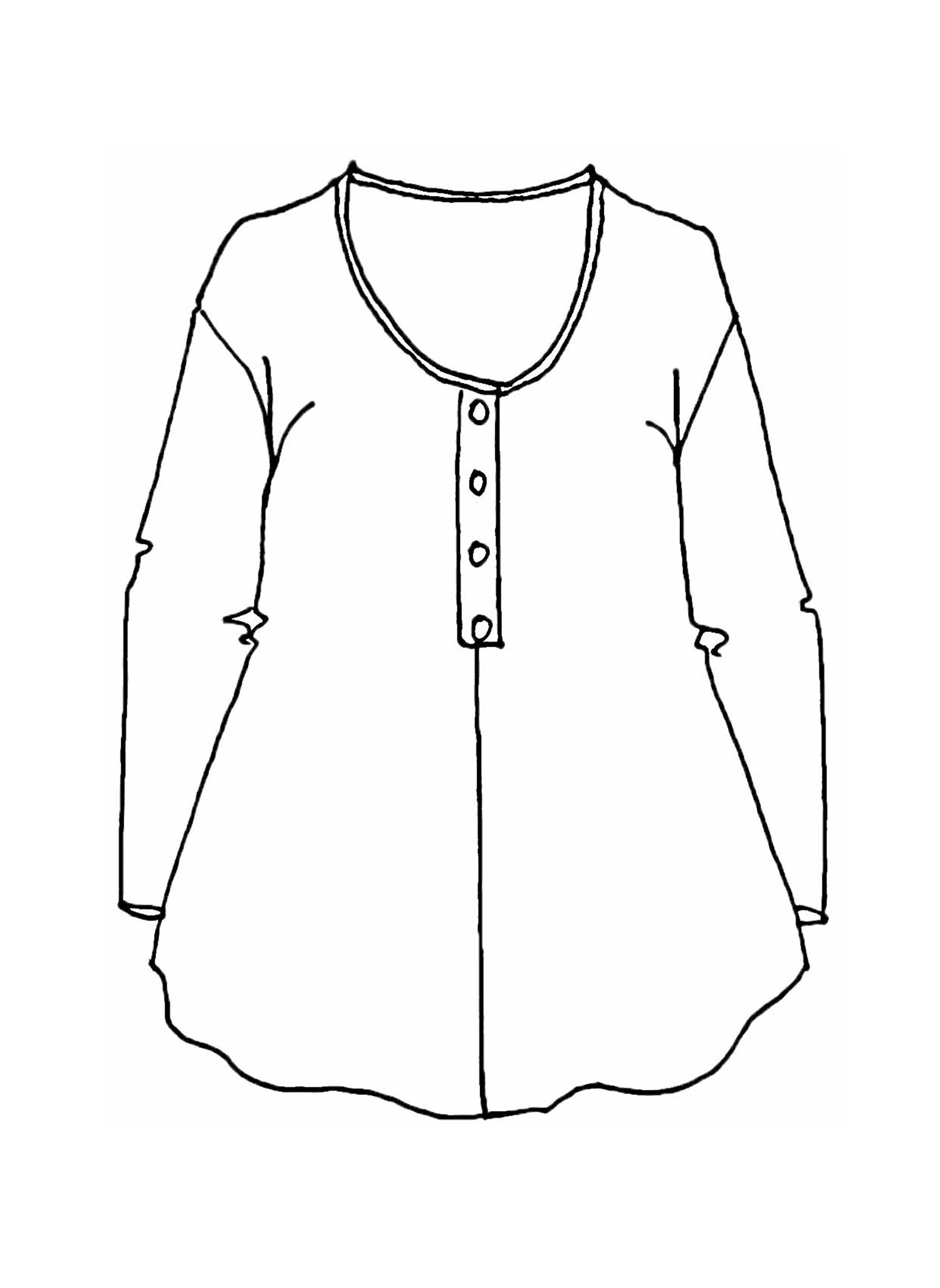 Current Blouse sketch image