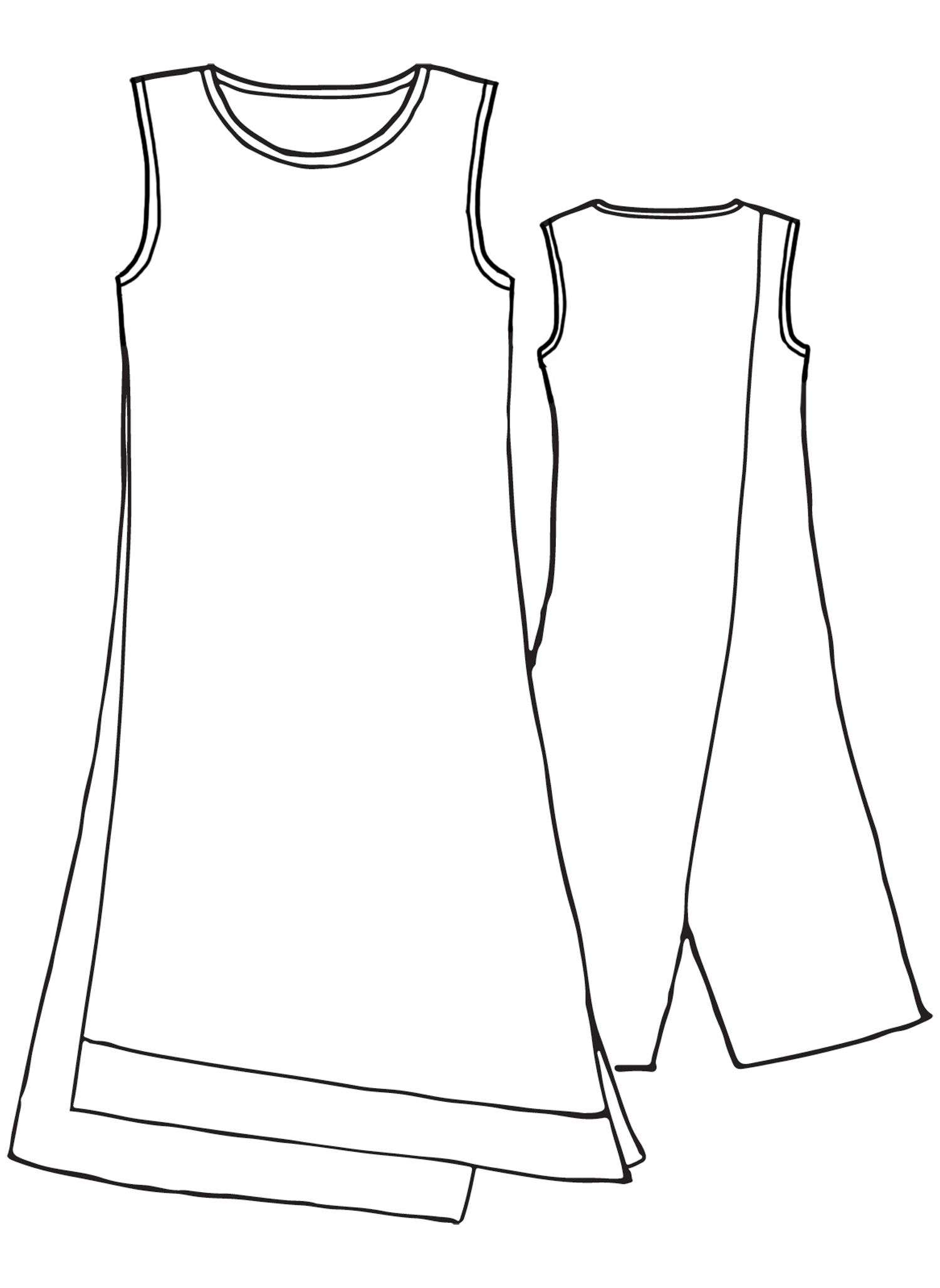 Vancouver Dress sketch image