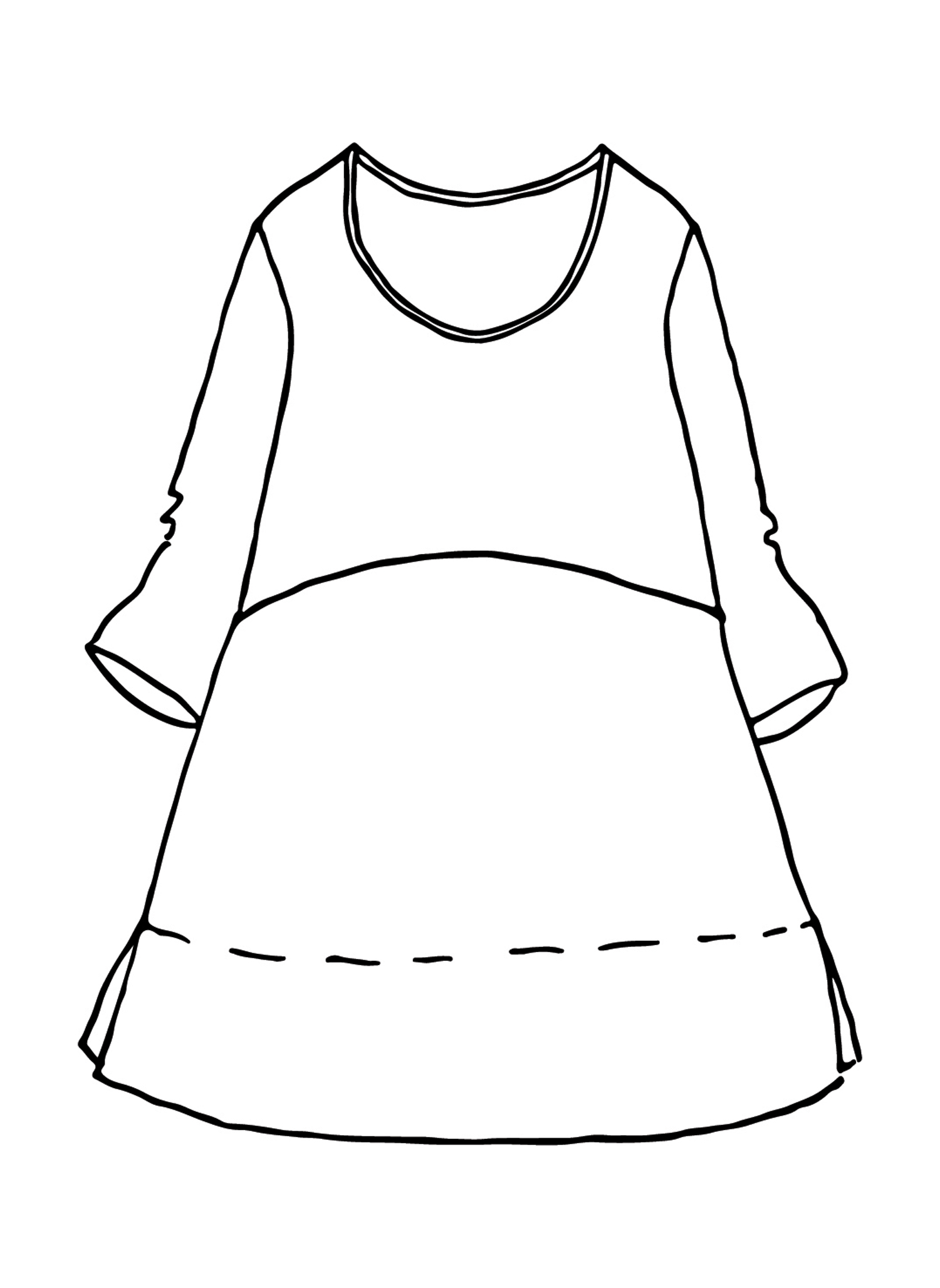 Tranquil Pullover sketch image