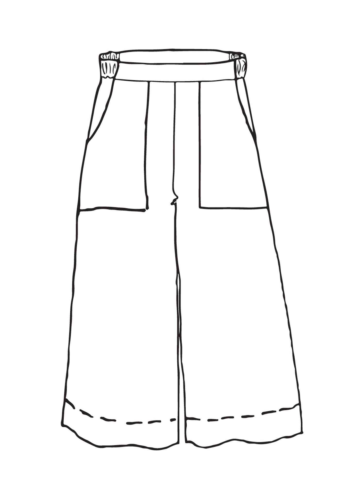 Kate Pant sketch image