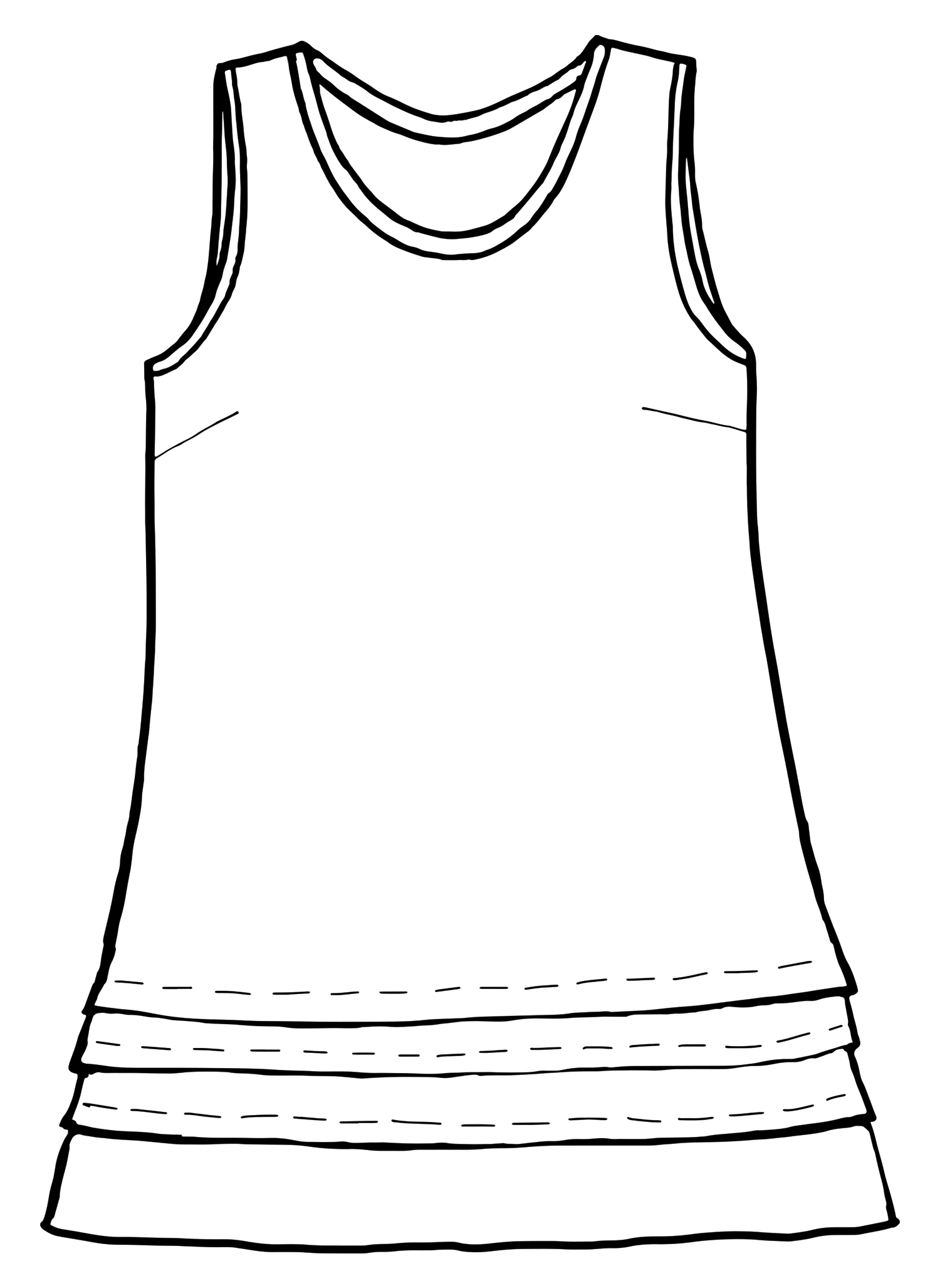 Tuck Tunic sketch image