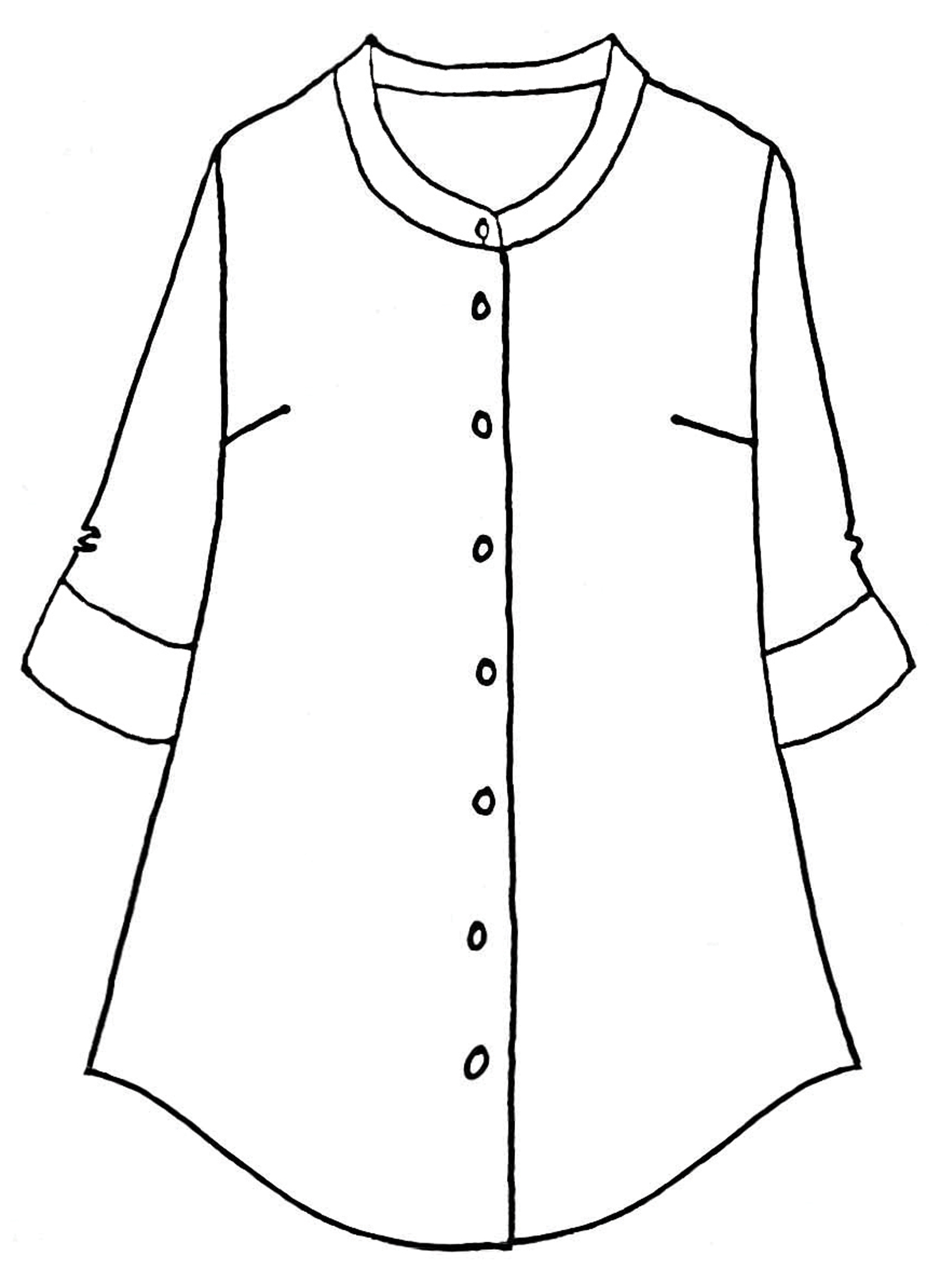 Vintage Shirt Tunic sketch image