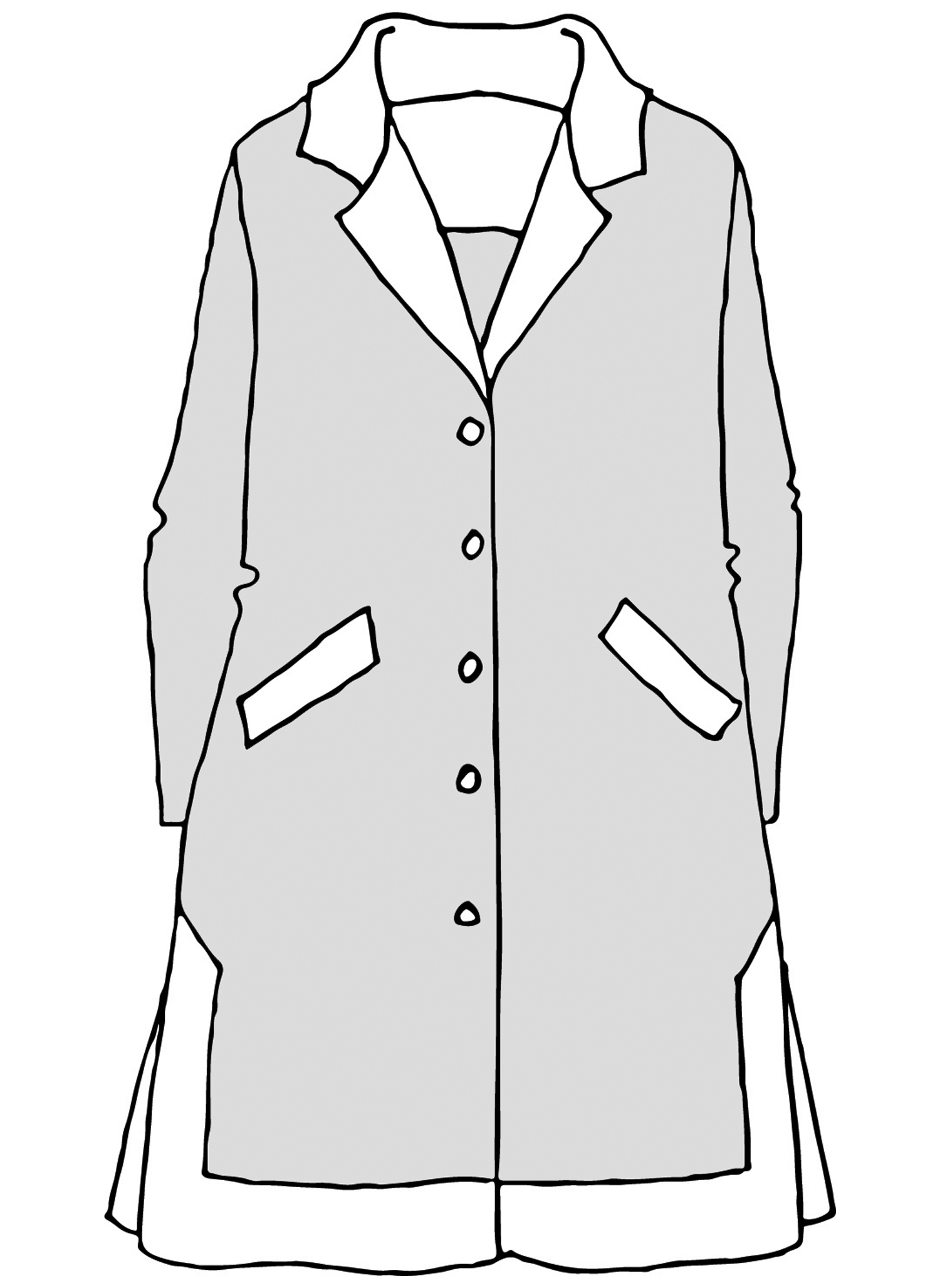 Suave Jacket sketch image