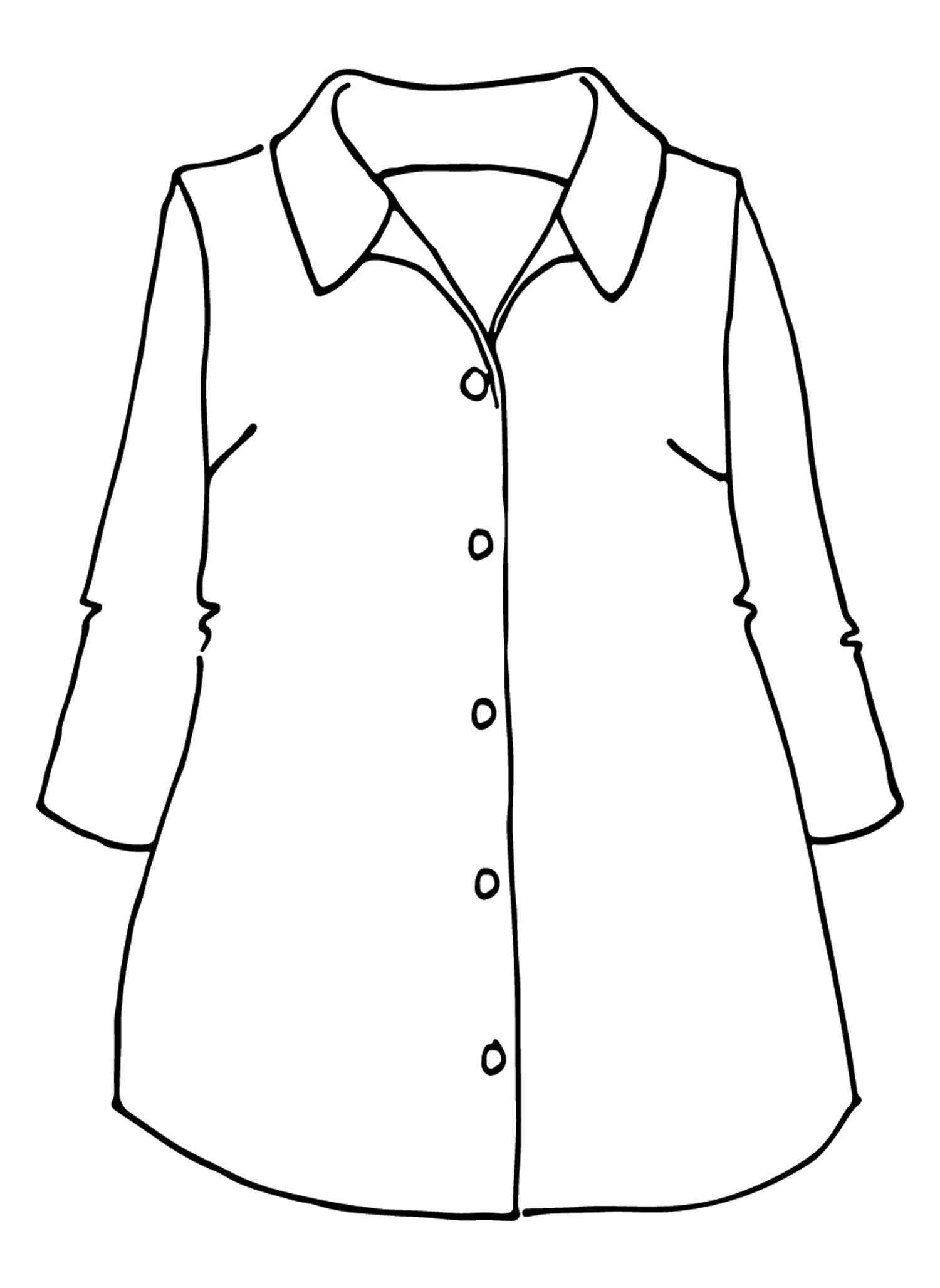 In-Line Blouse sketch image