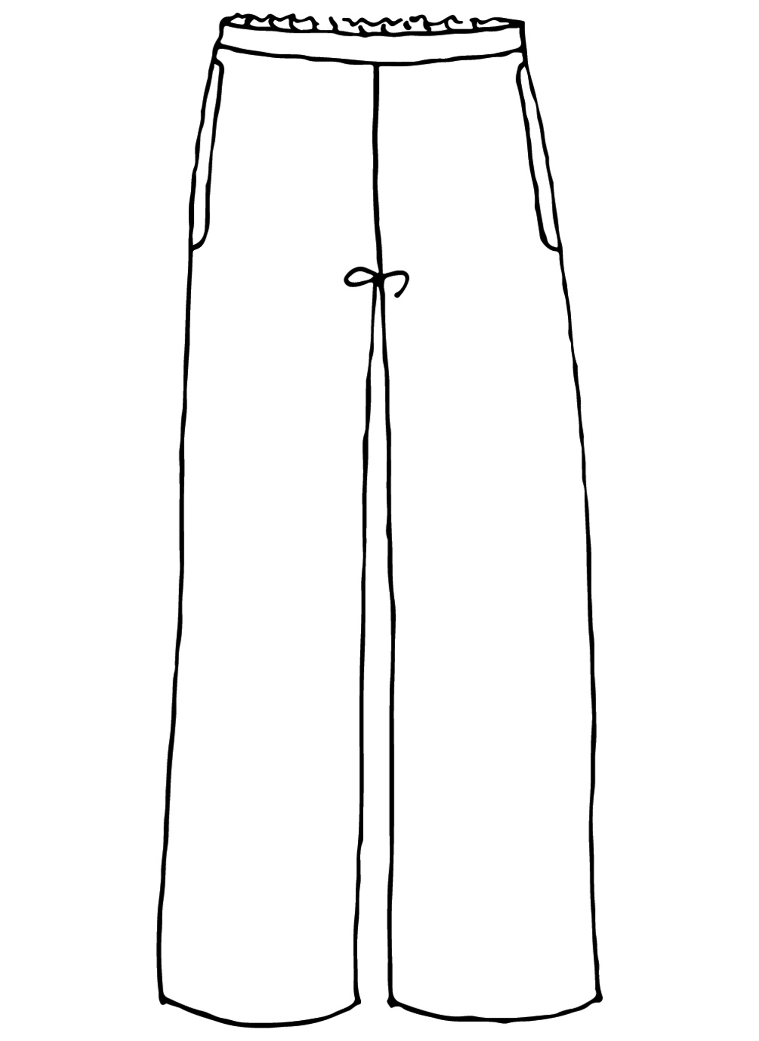 Refreshed Pant sketch image
