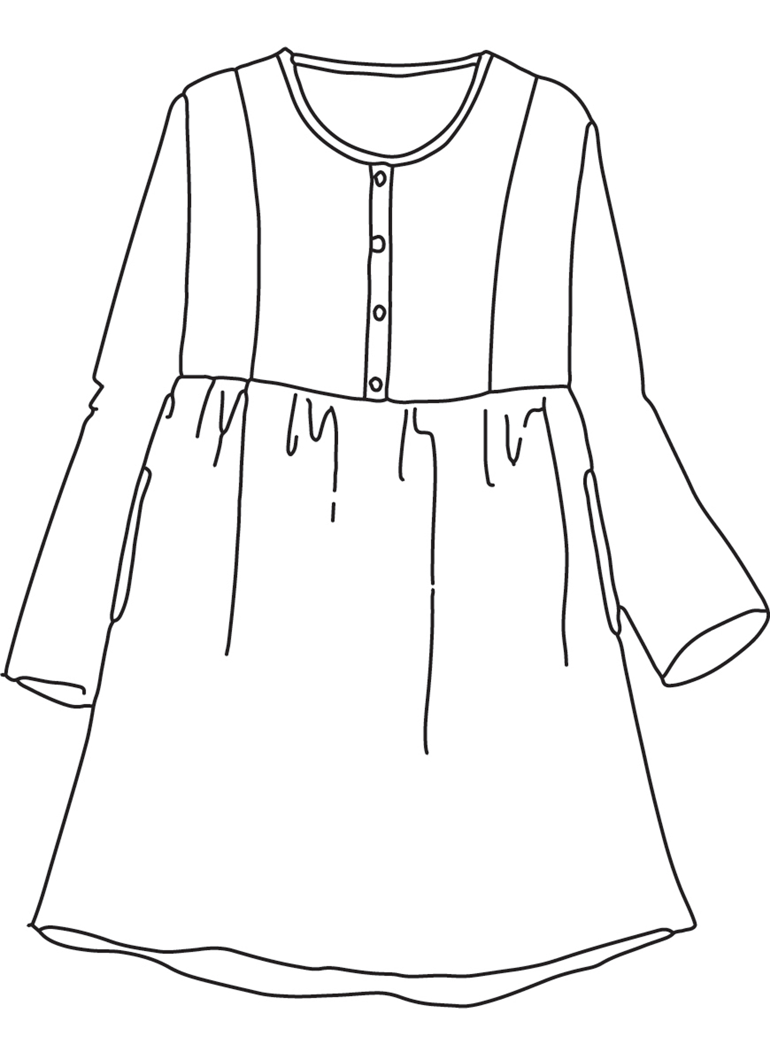 Easy Dress sketch image