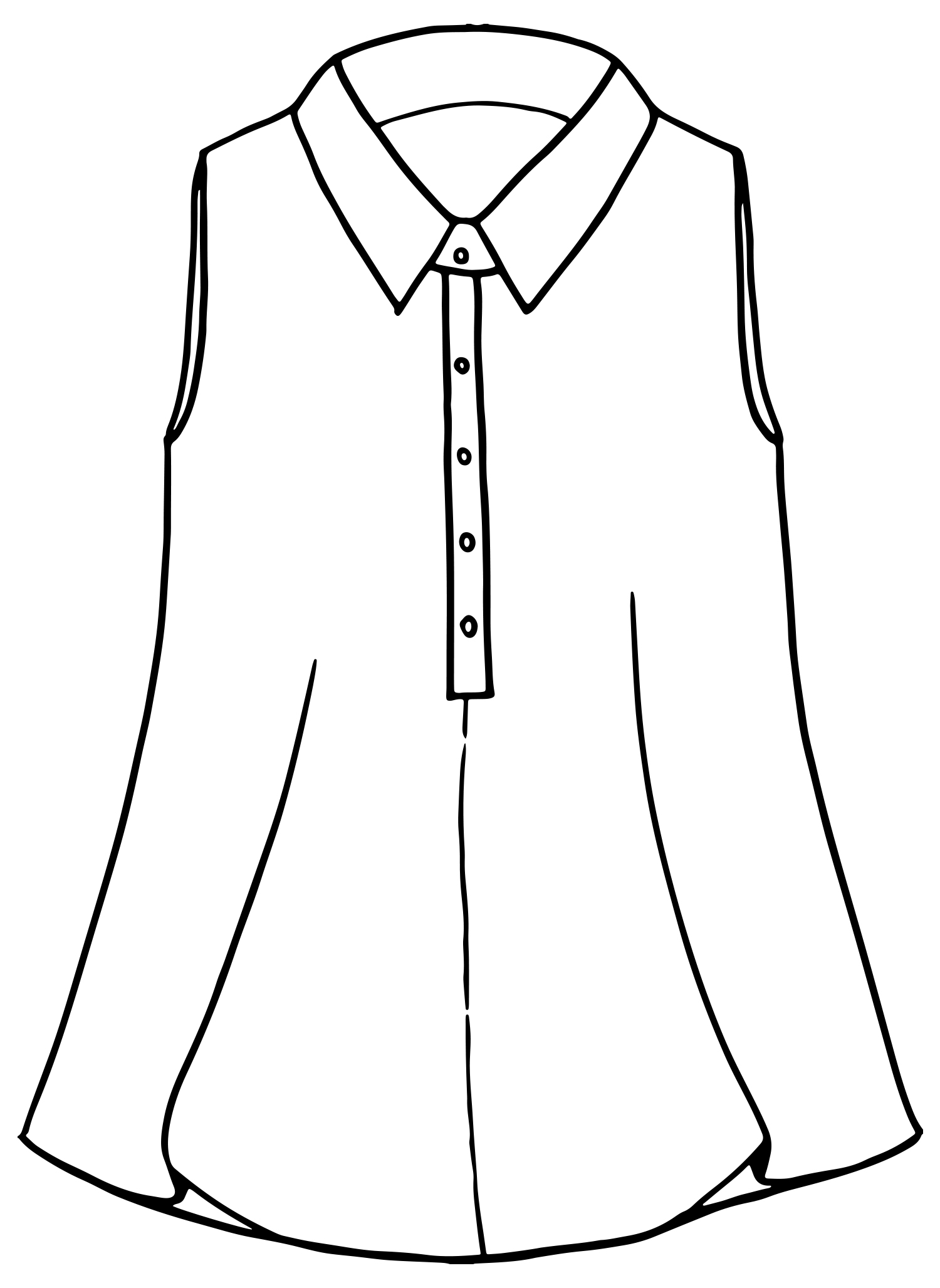 Speakeasy Sleeveless sketch image