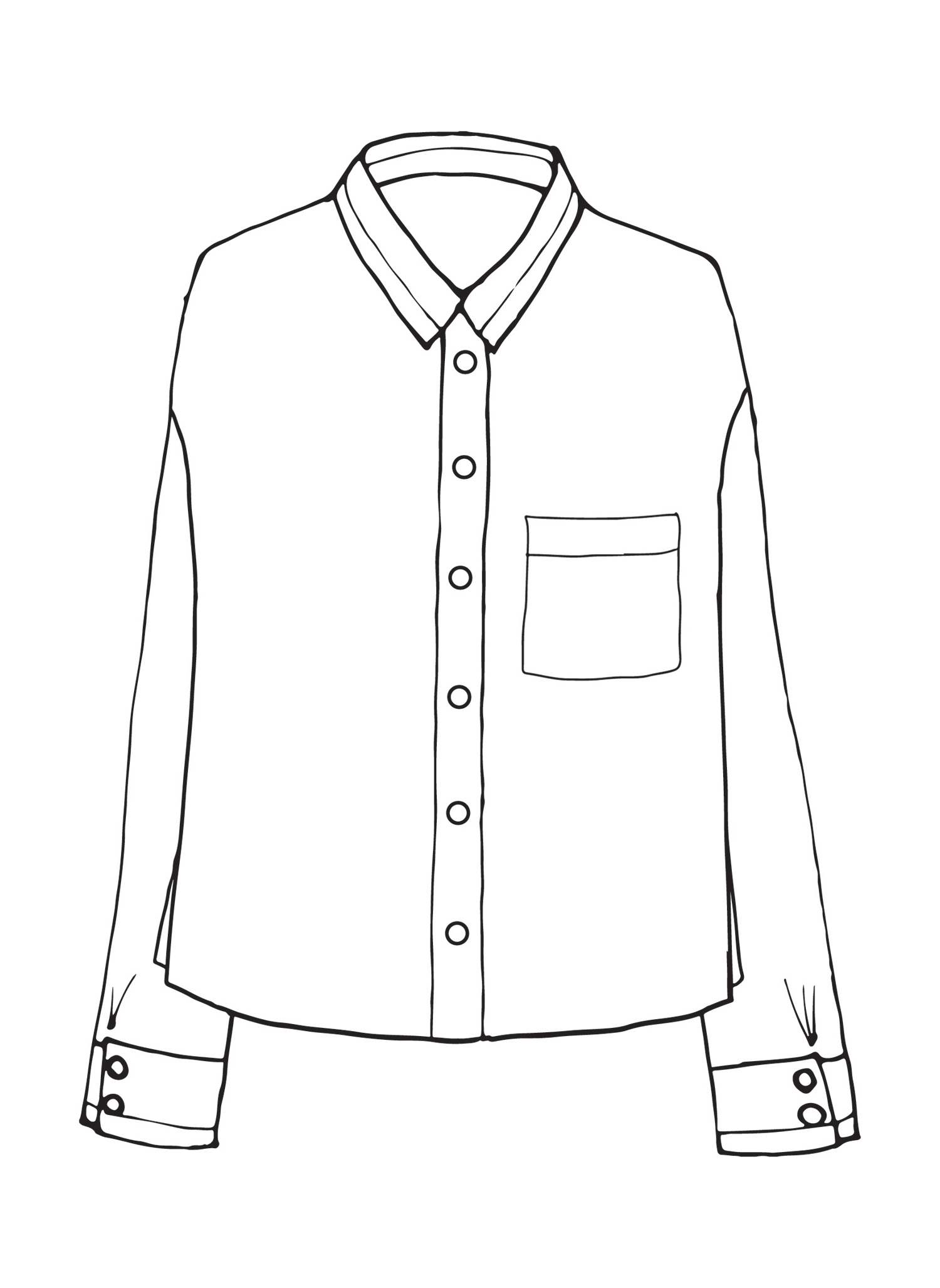 Theo Shirt sketch image