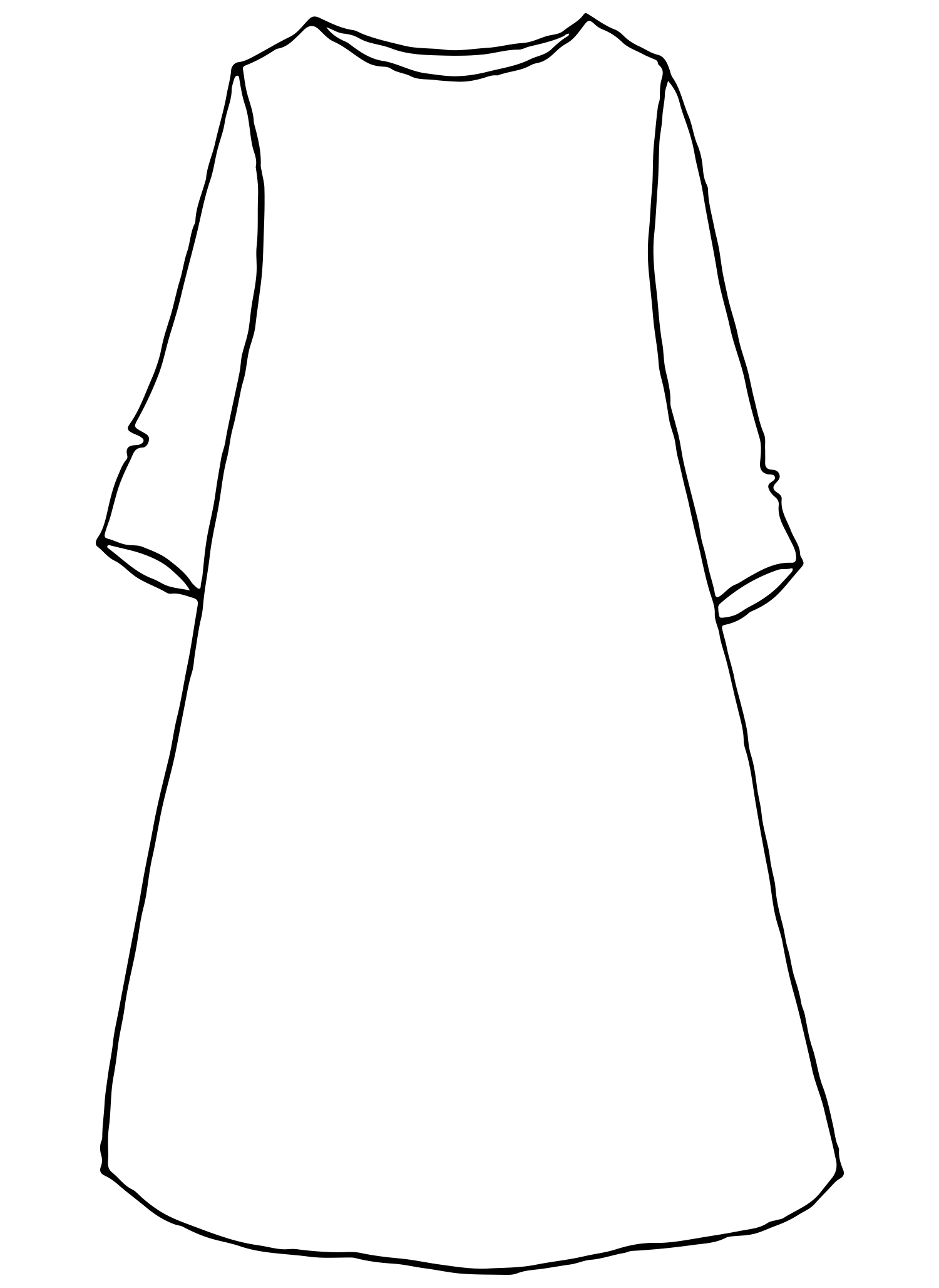 Must Have Dress sketch image