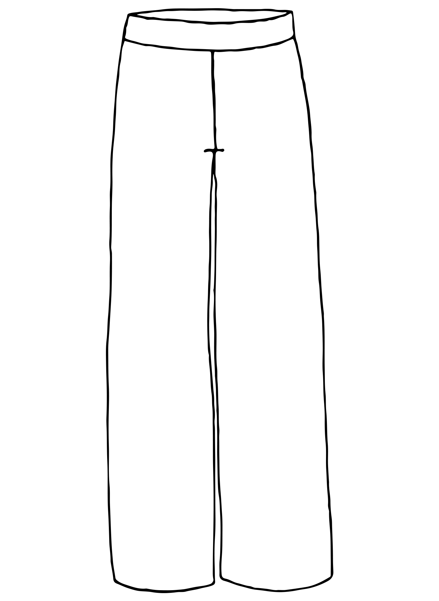 Perfect Pant sketch image
