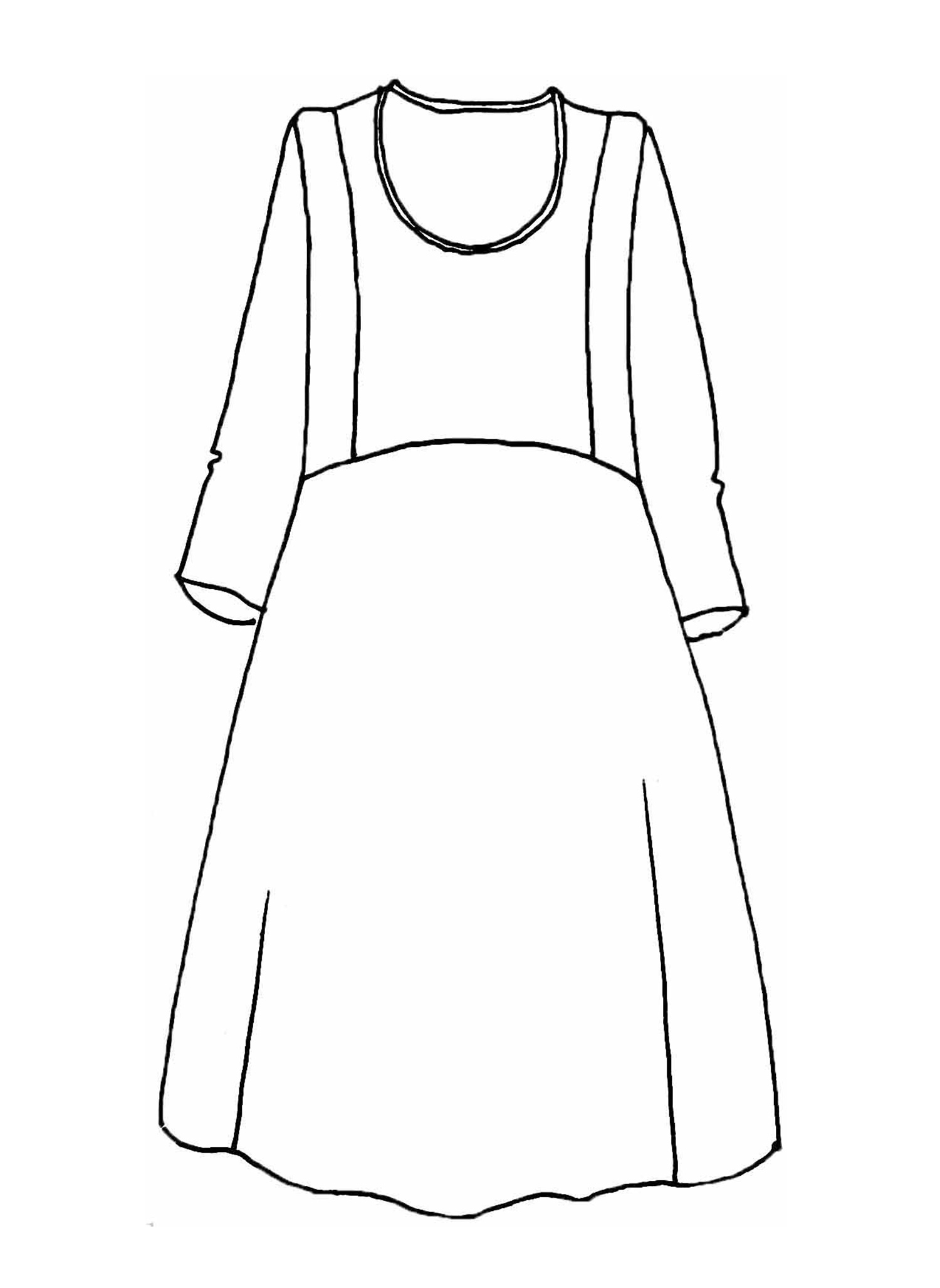 Angle Dress sketch image