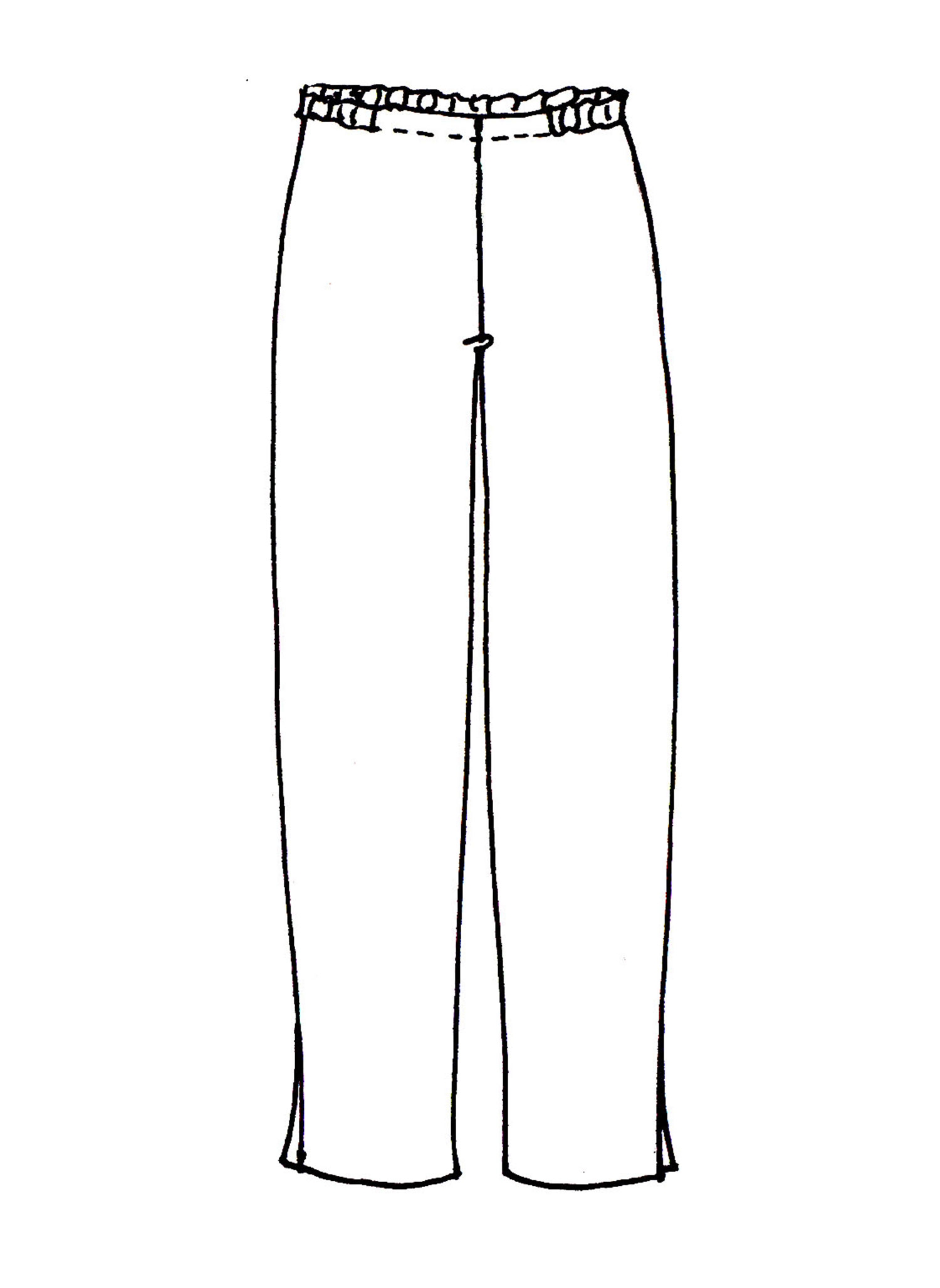 Ankle Pant sketch image