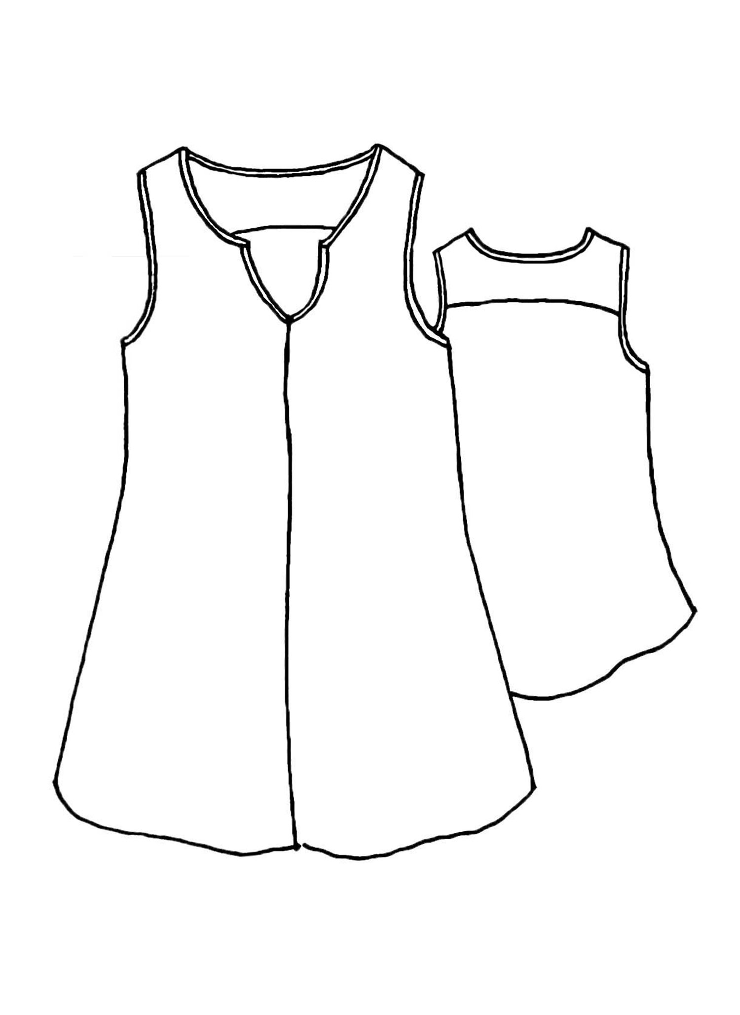 True Tunic sketch image