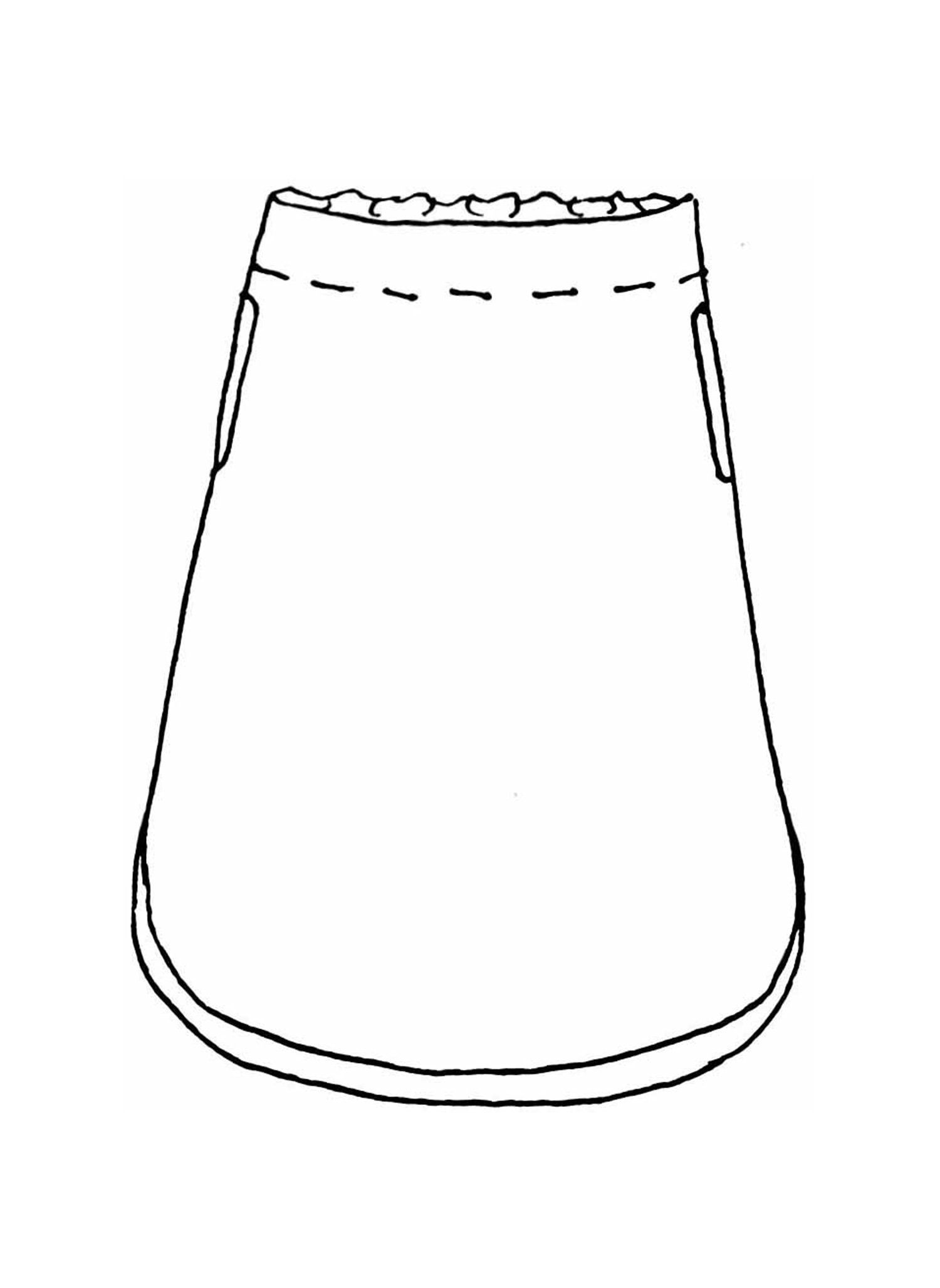 Radiant Skirt sketch image