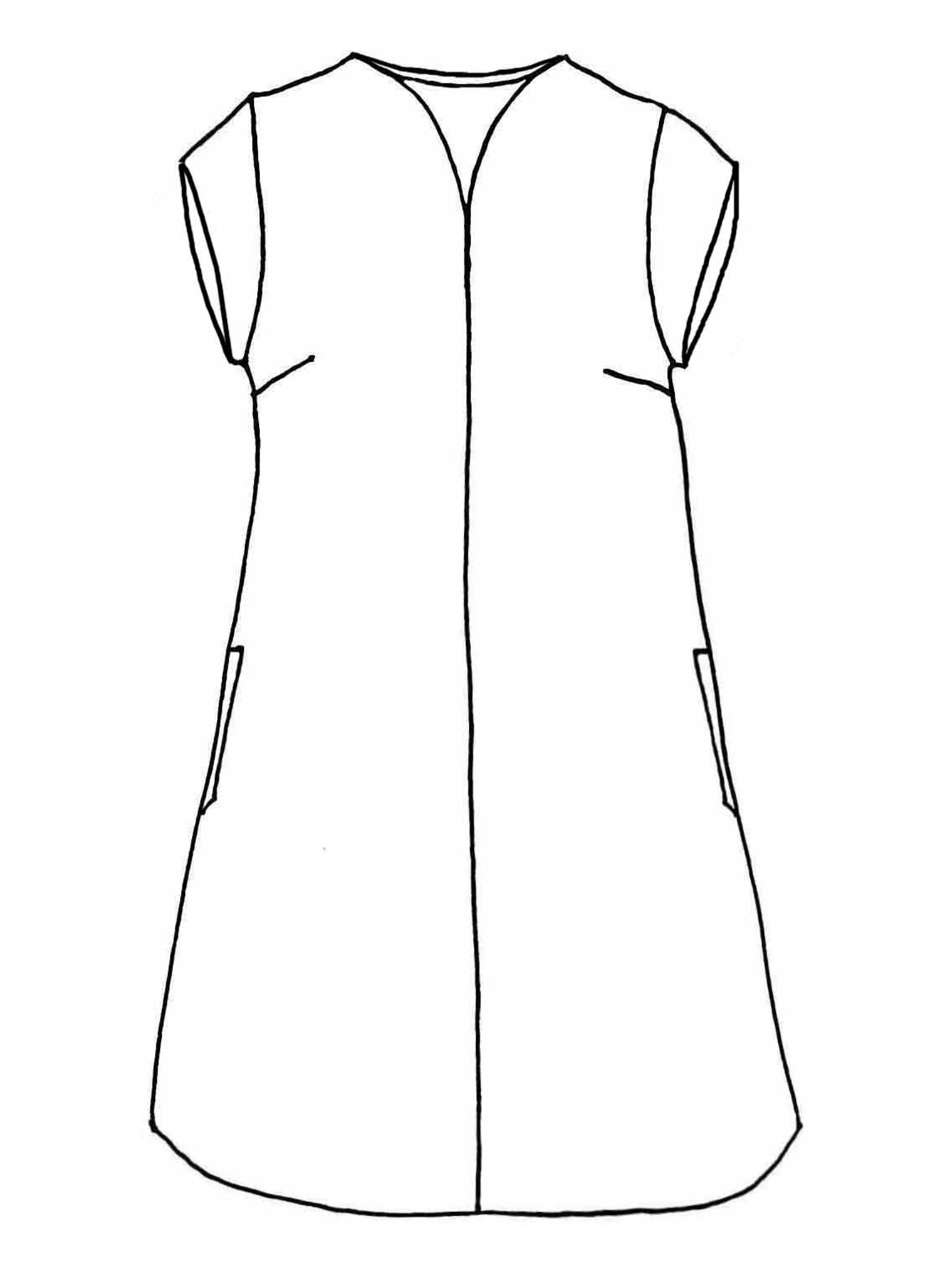 Centered Dress sketch image