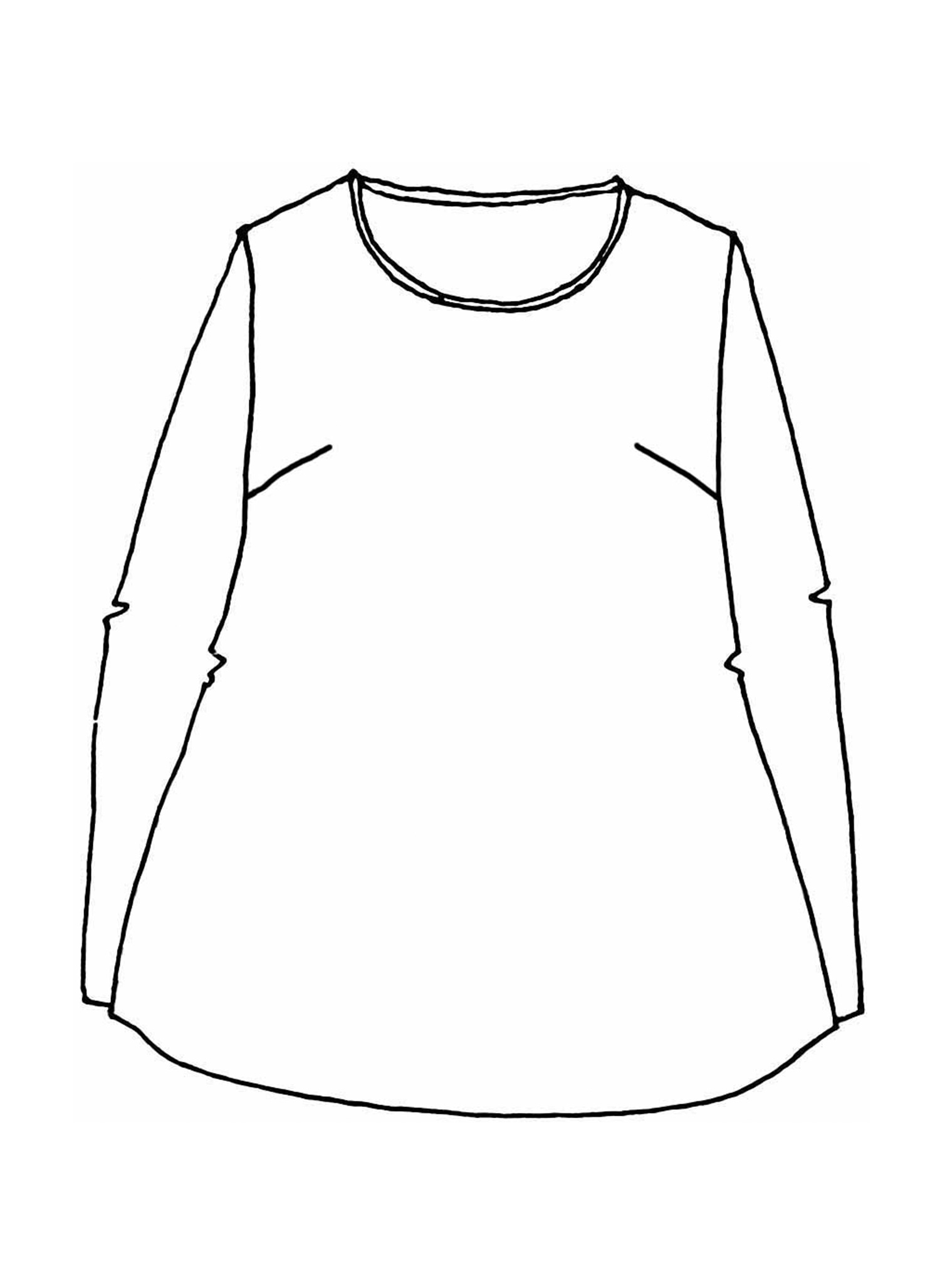 Balance Pullover sketch image