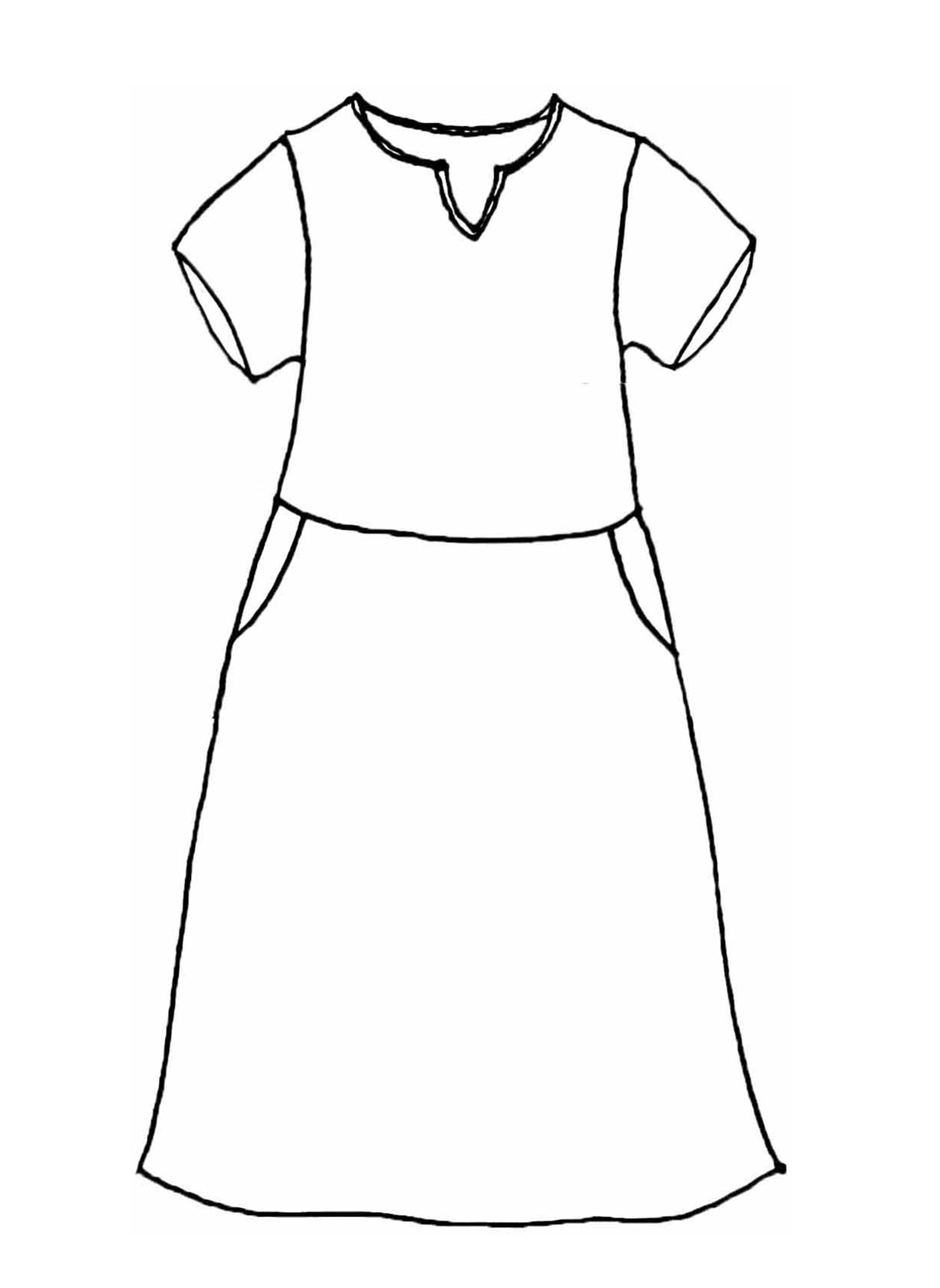 Renewed Dress sketch image
