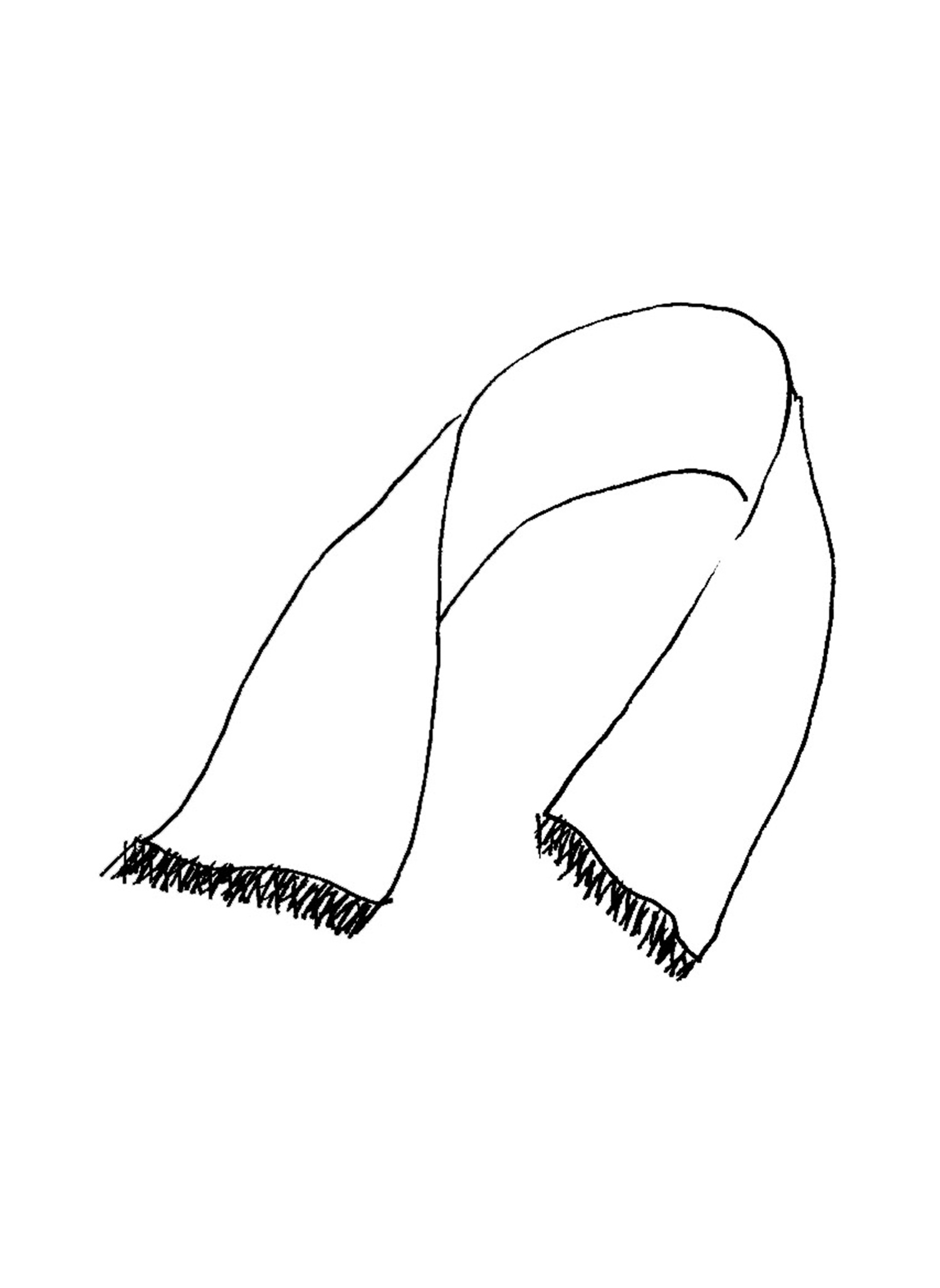 Scarf sketch image