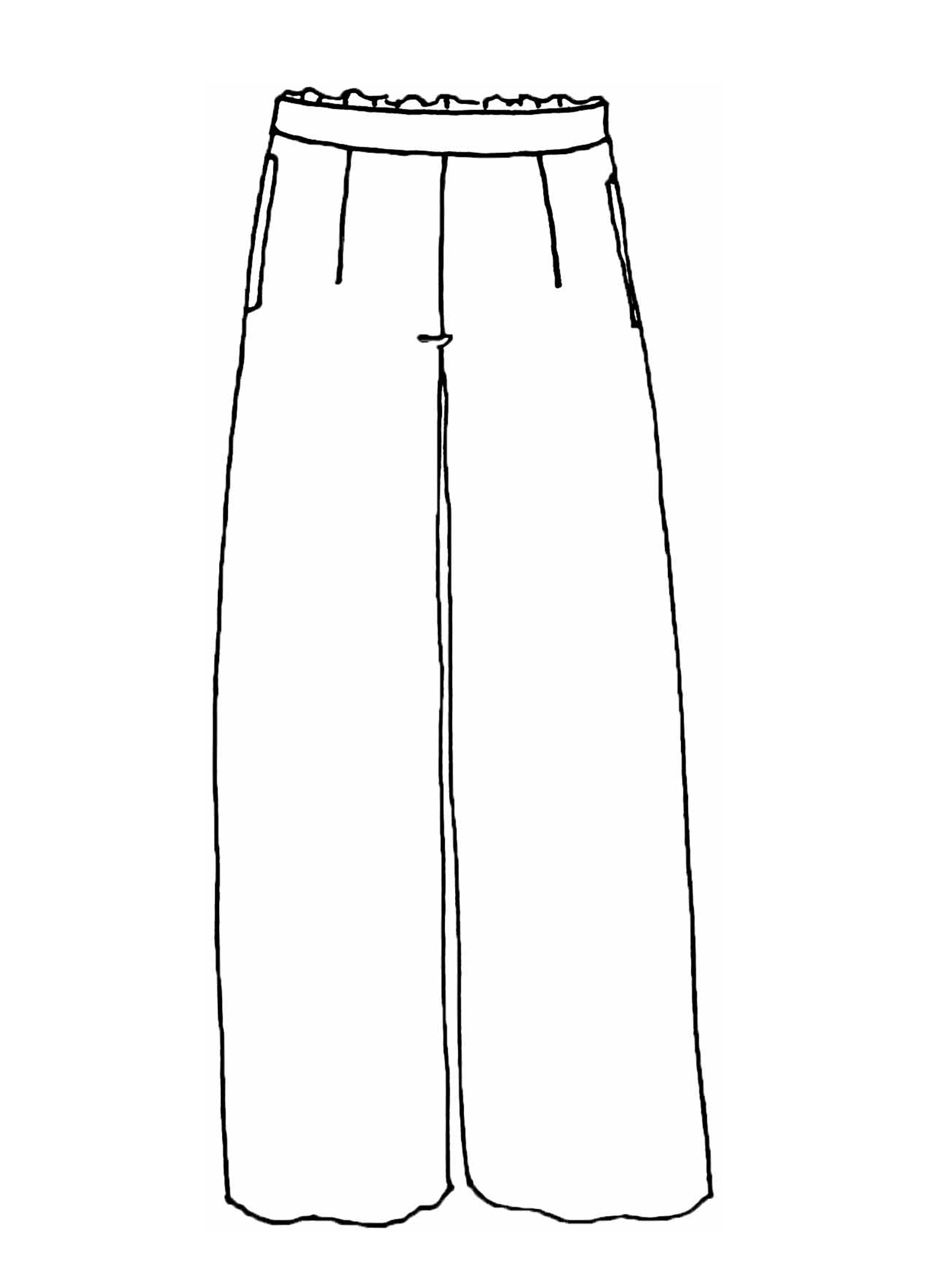 Complete Pant sketch image