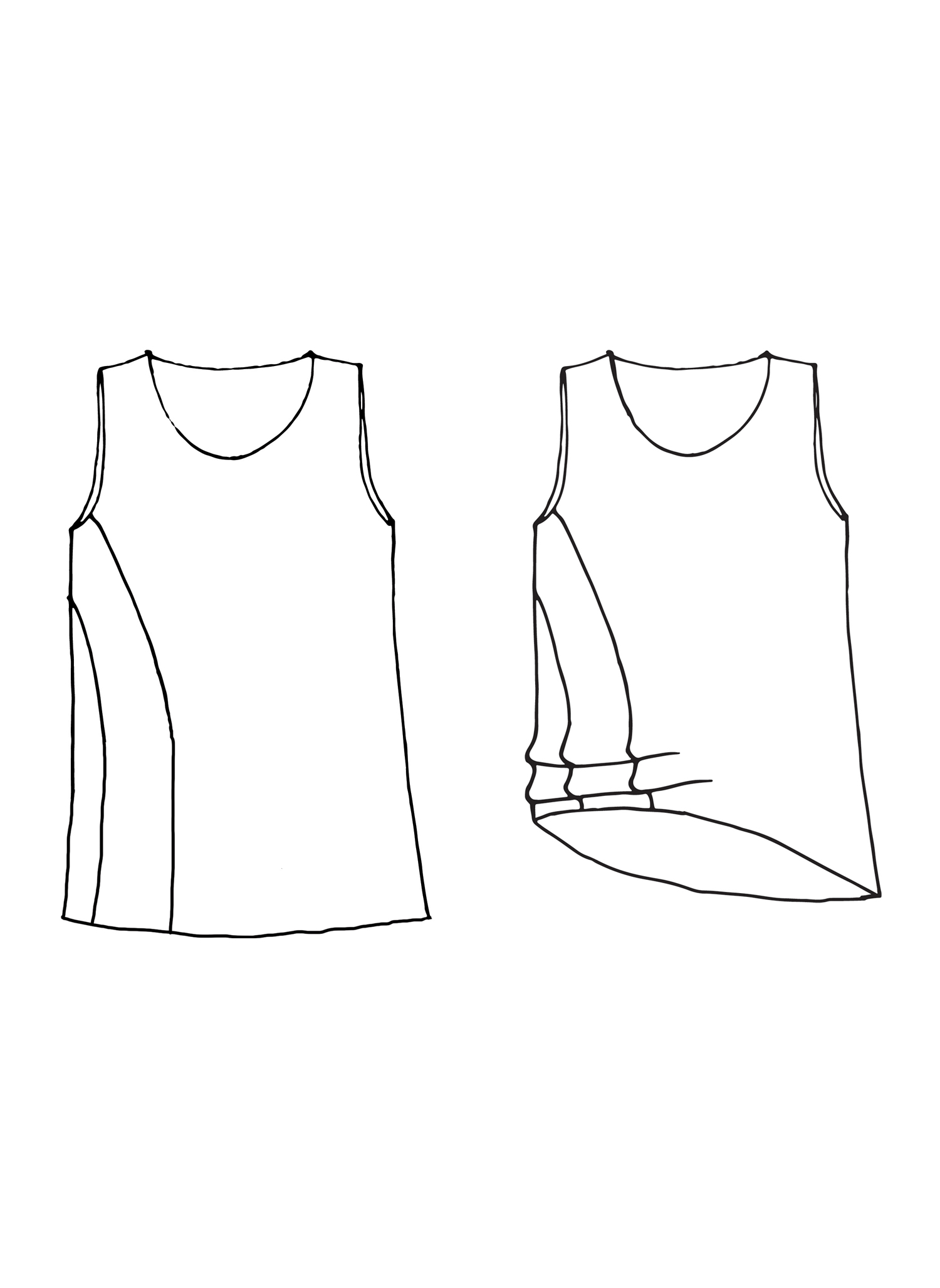 Multi-Facet Tunic sketch image
