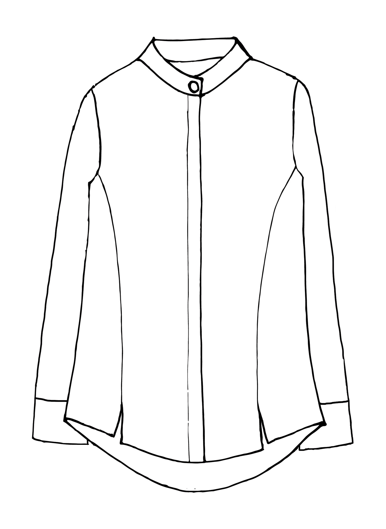 Wear-With-All Shirt sketch image