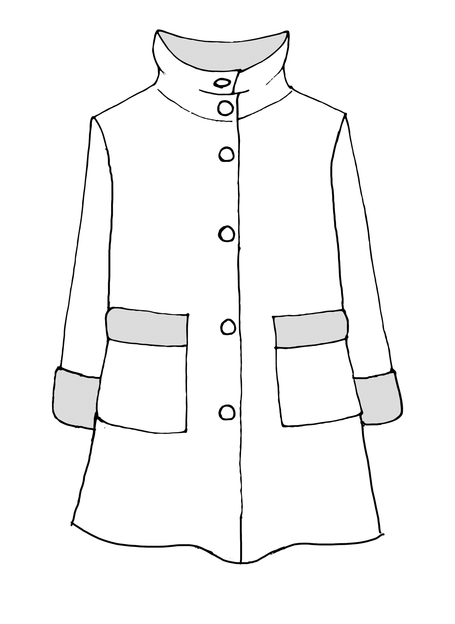 Artisan Jacket sketch image