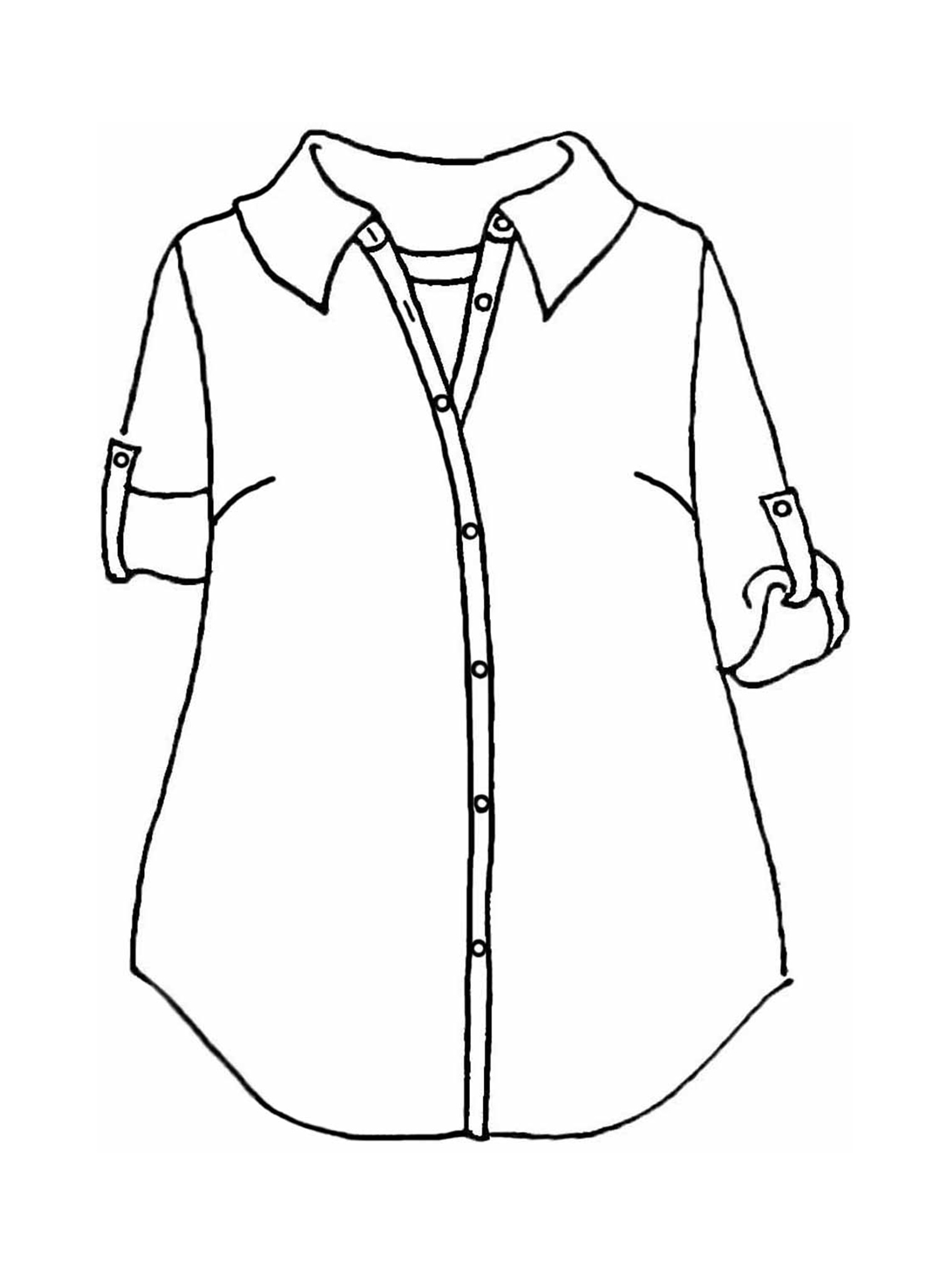 Workshirt sketch image