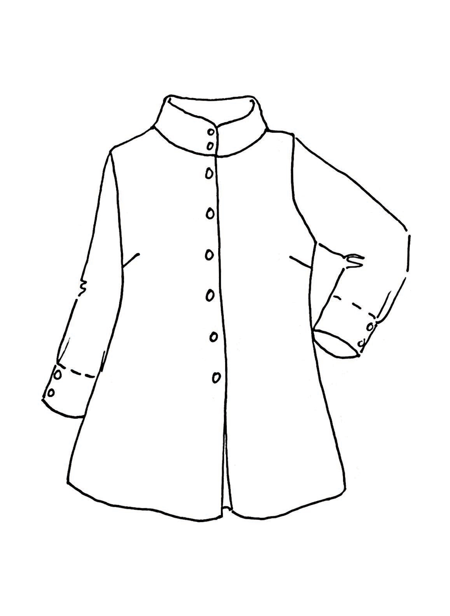 Dame Blouse sketch image