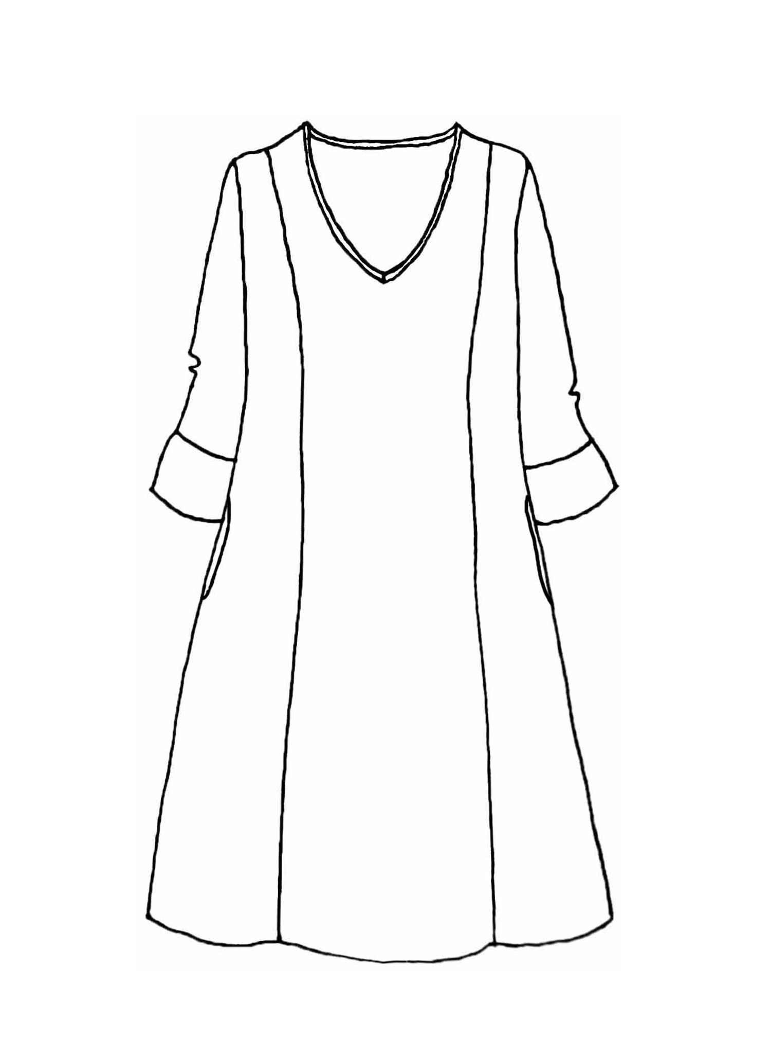 Iconic Dress sketch image