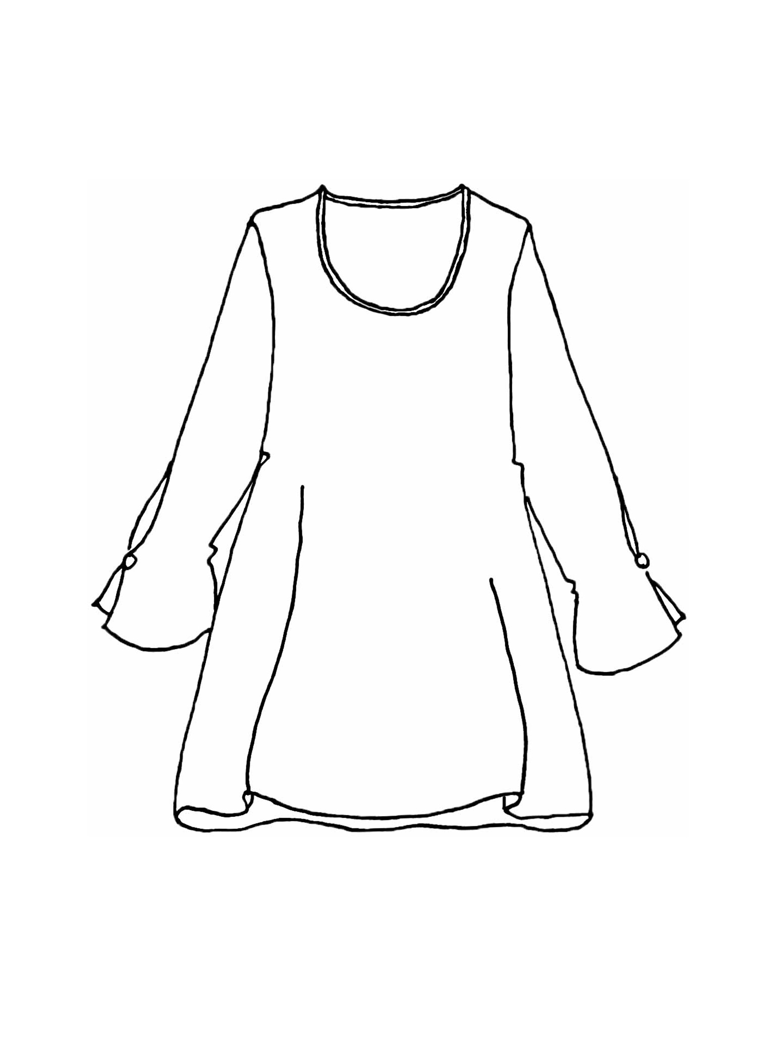 Graceful Tunic sketch image