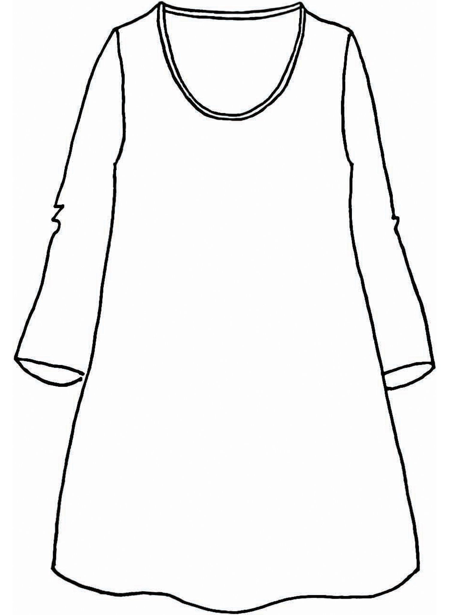 Effortless Tunic sketch image