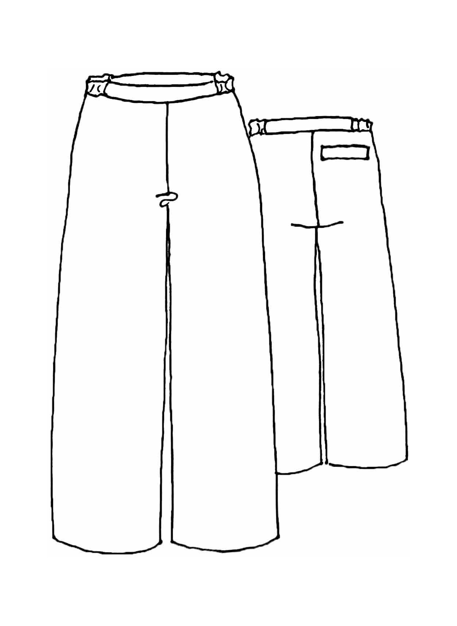 Dock Pant sketch image