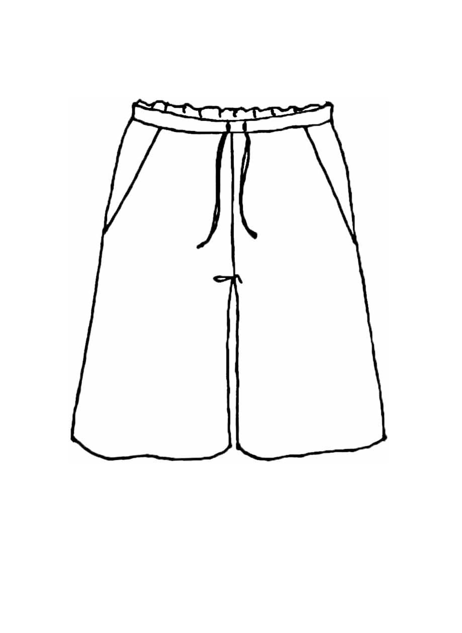 Day Shorts sketch image