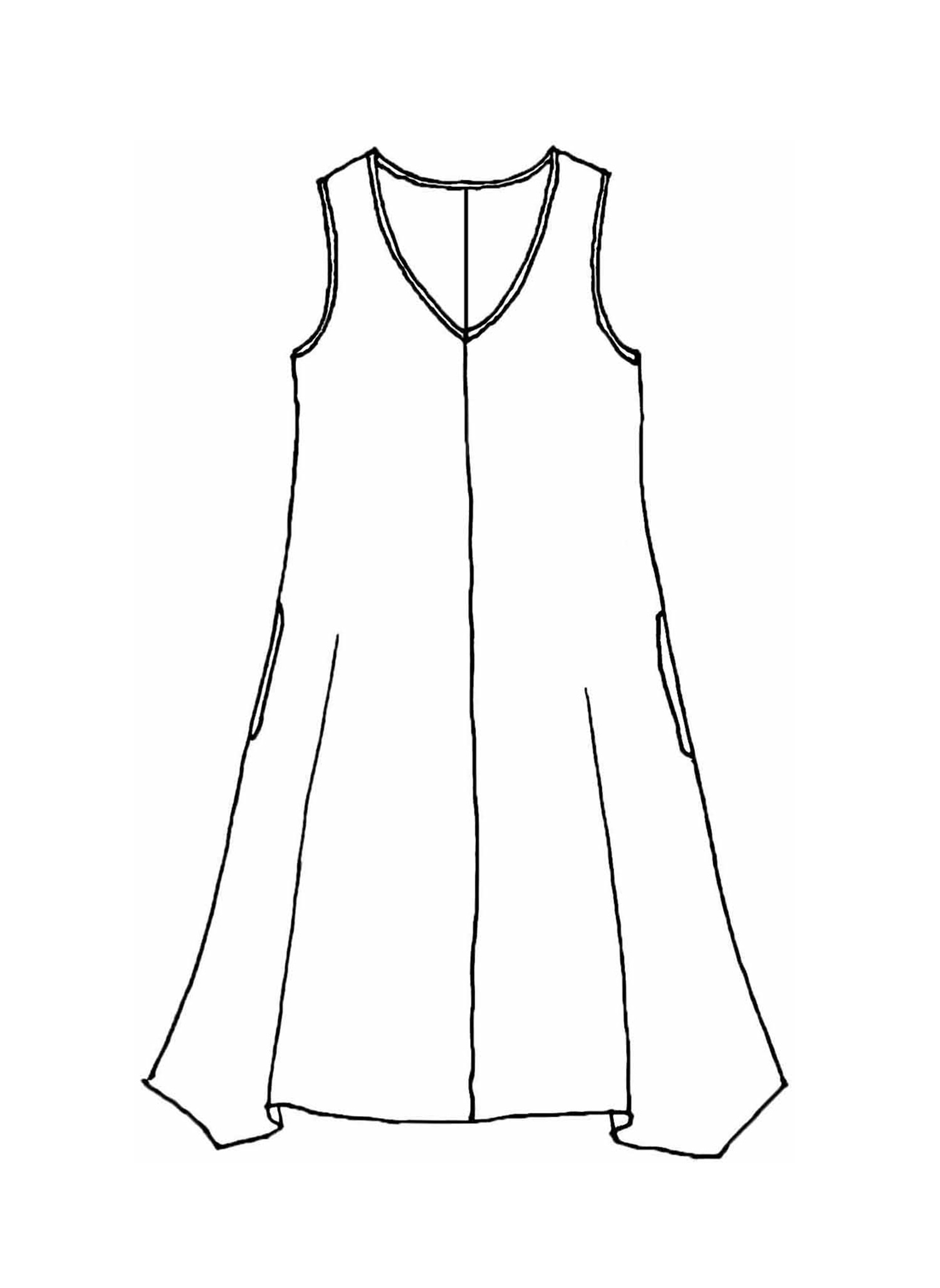 Hem Dress sketch image