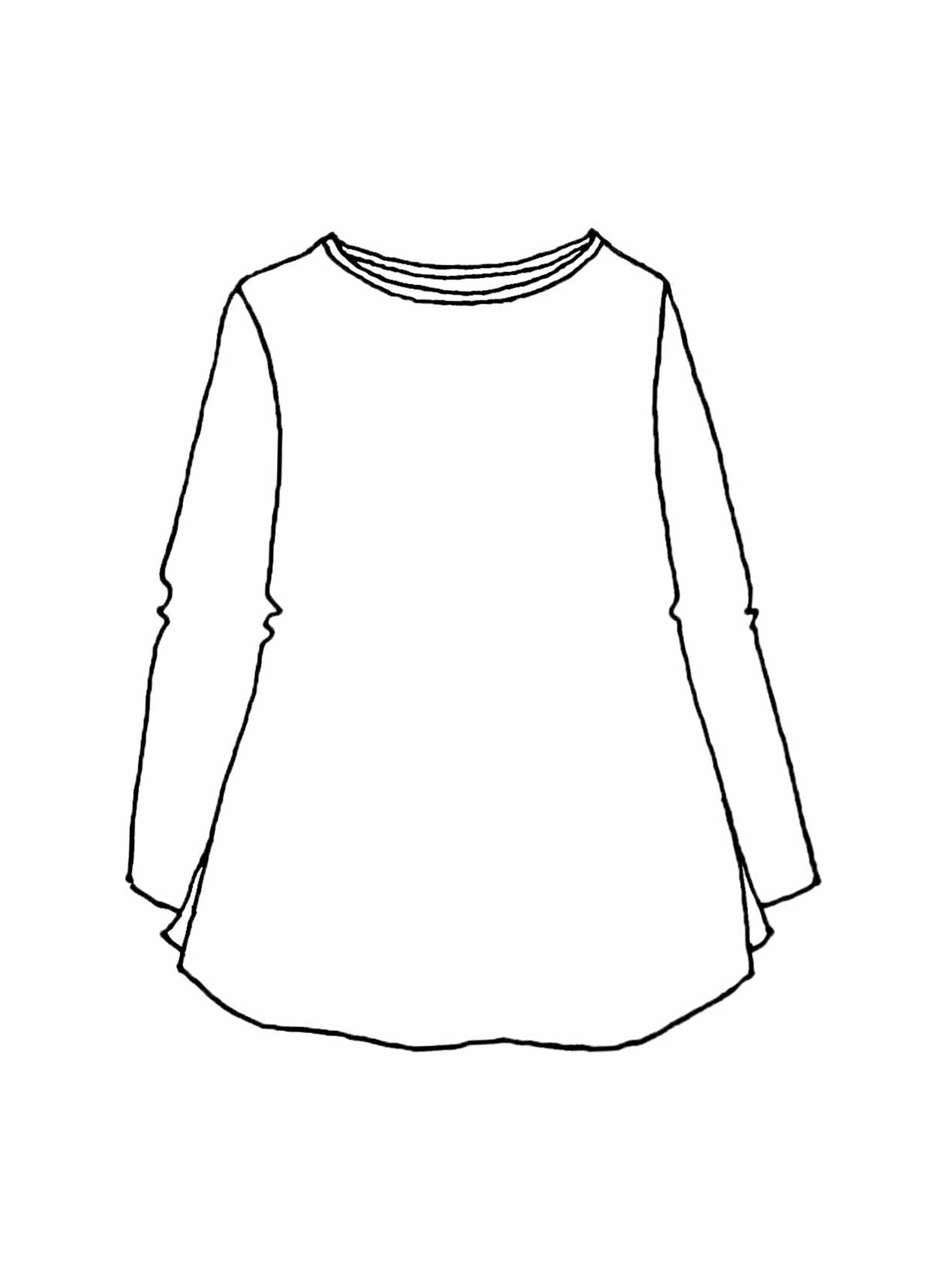Split Tunic sketch image