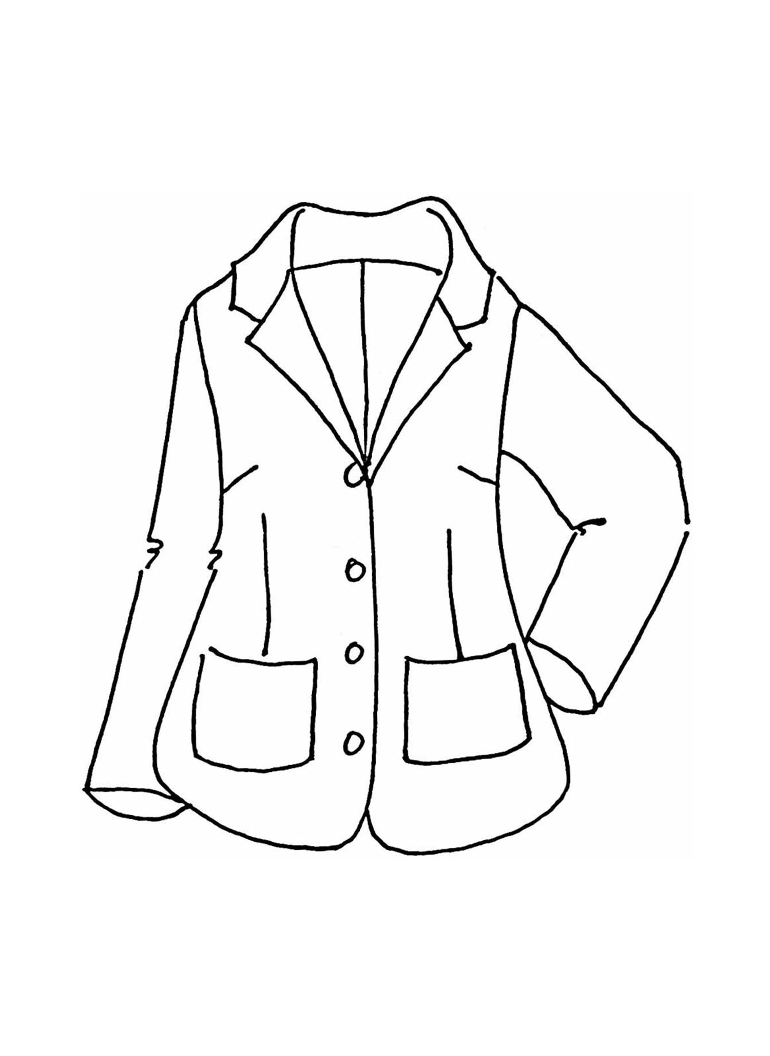 Travel Blazer sketch image