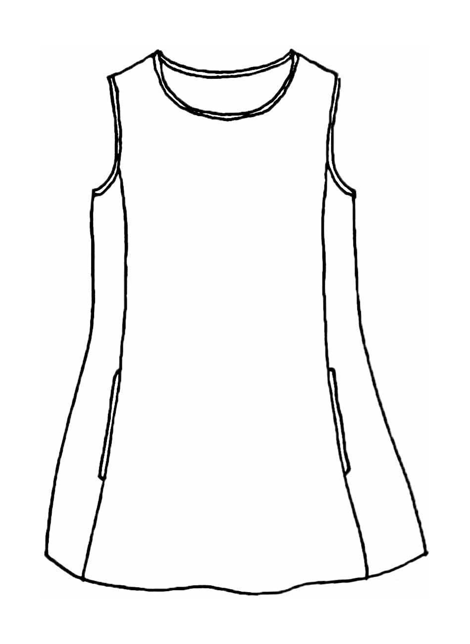 Side Pocket Tunic sketch image