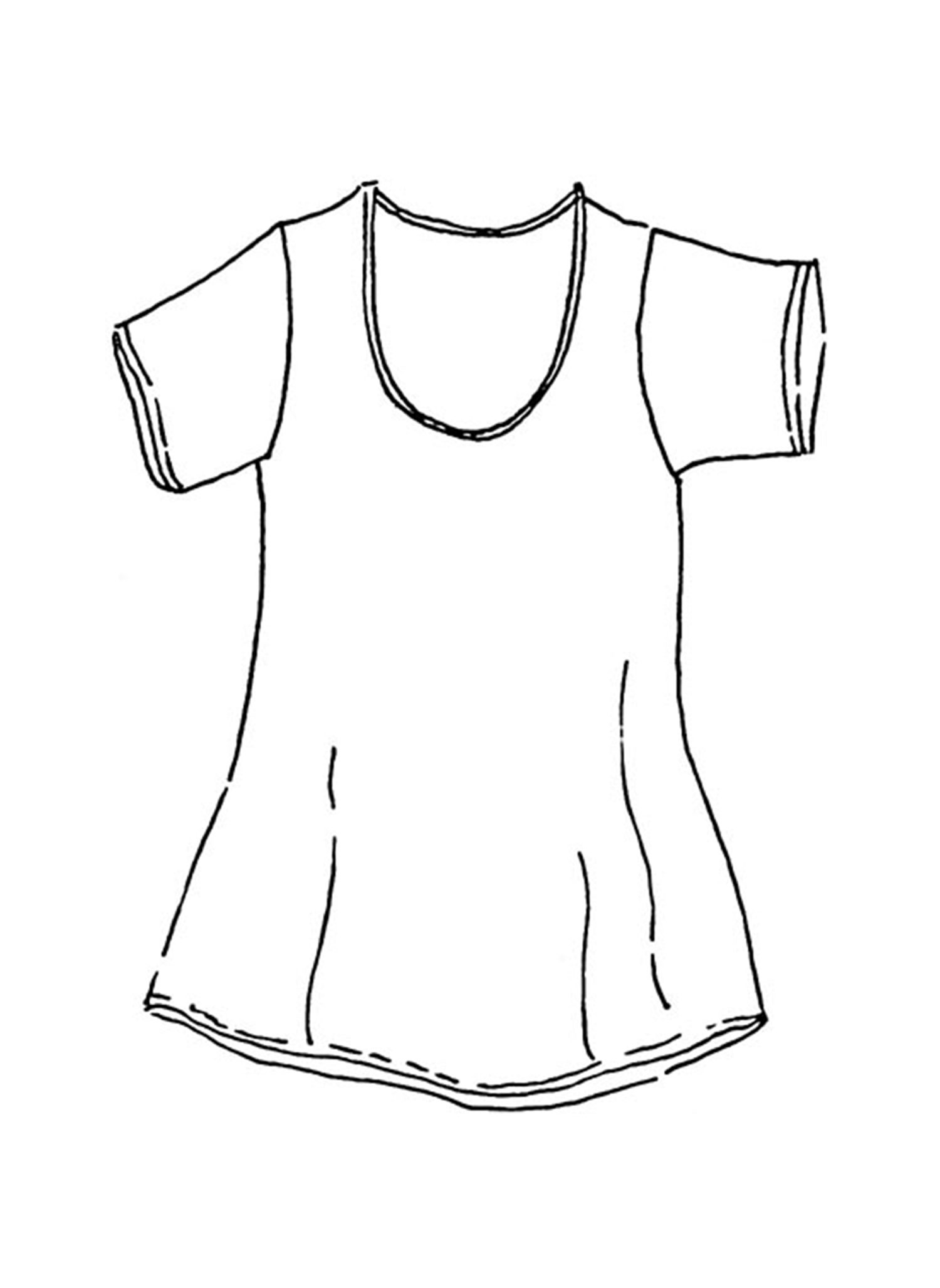 Tunic Tee sketch image