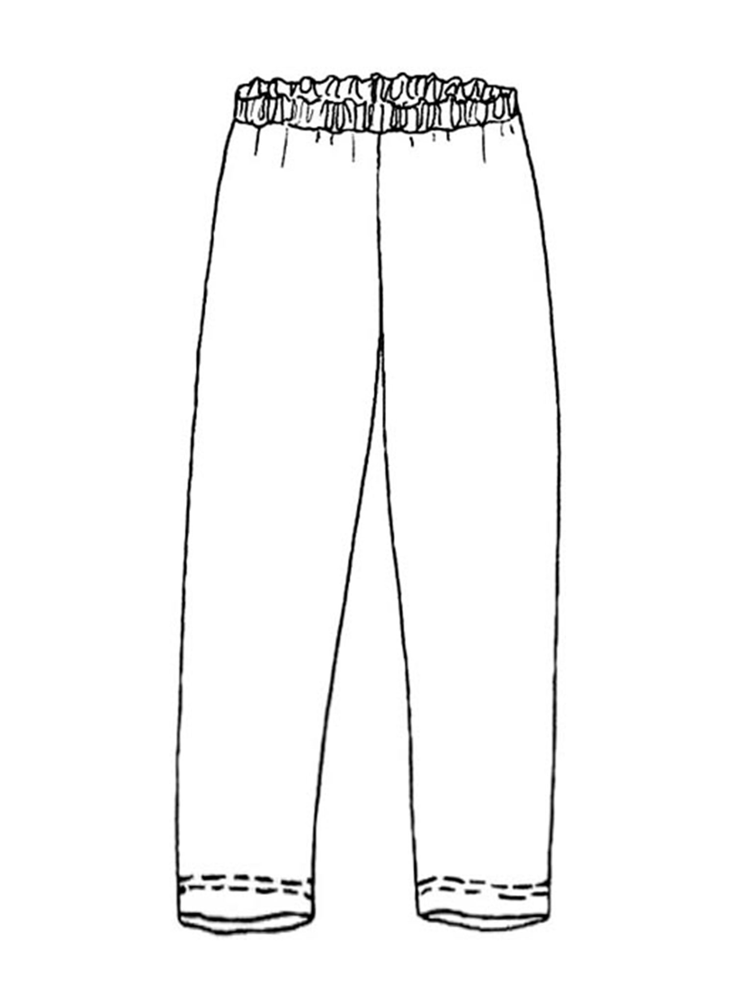 Ankle Length Leggings sketch image