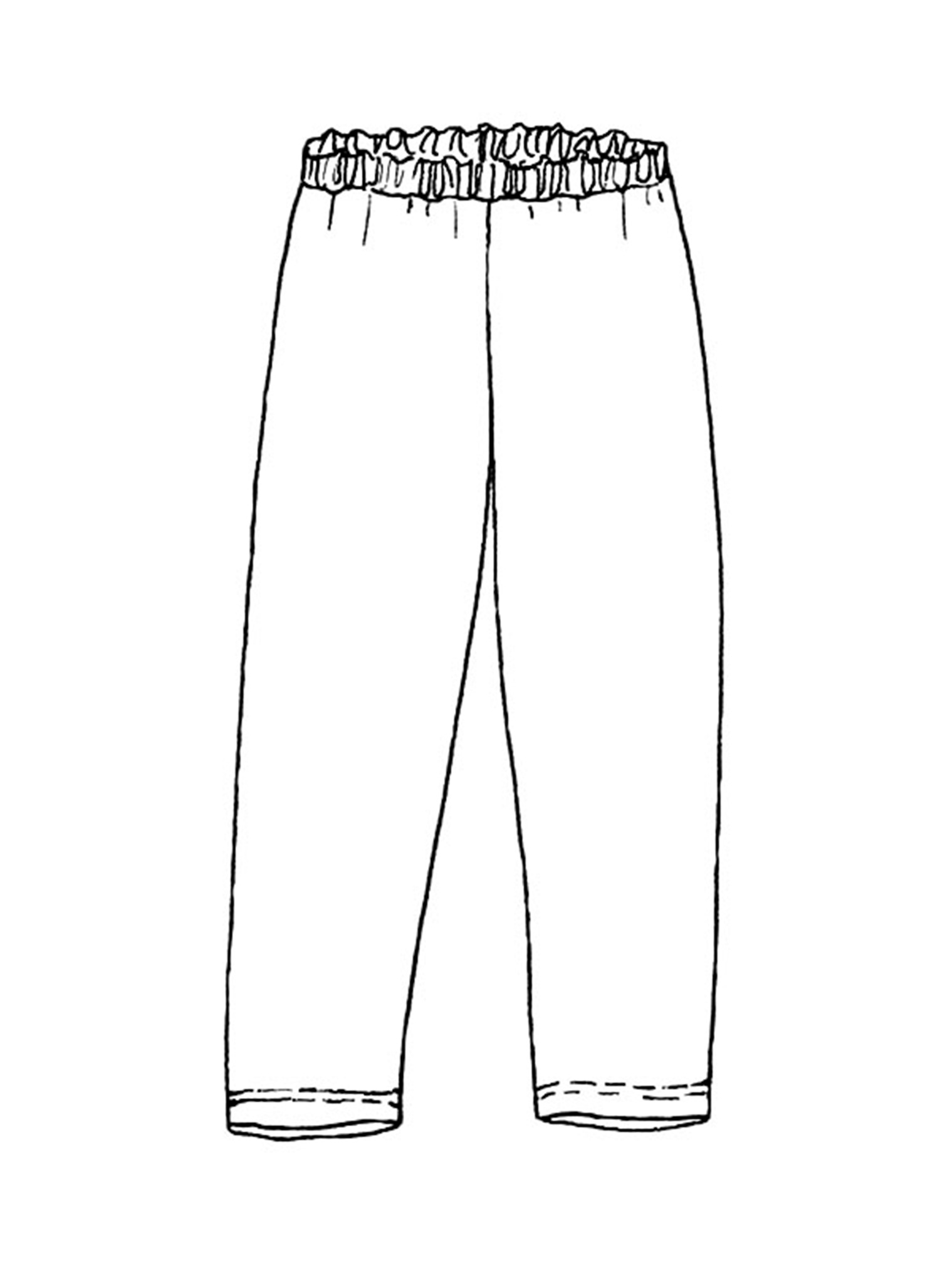 Leggings sketch image