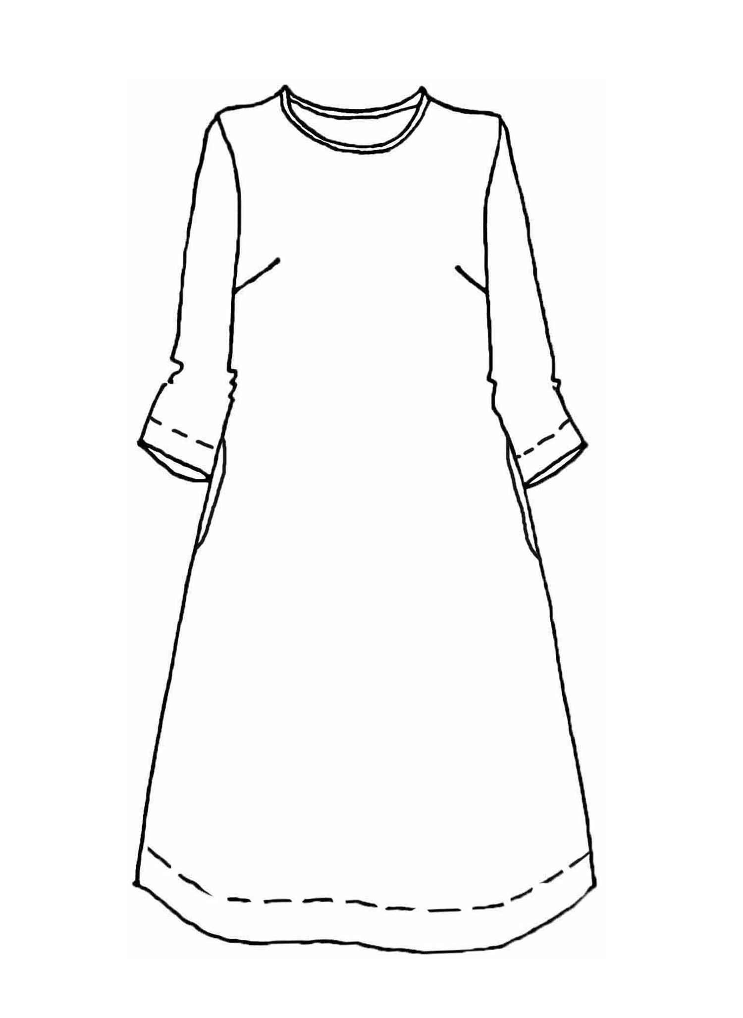 Muse Dress sketch image