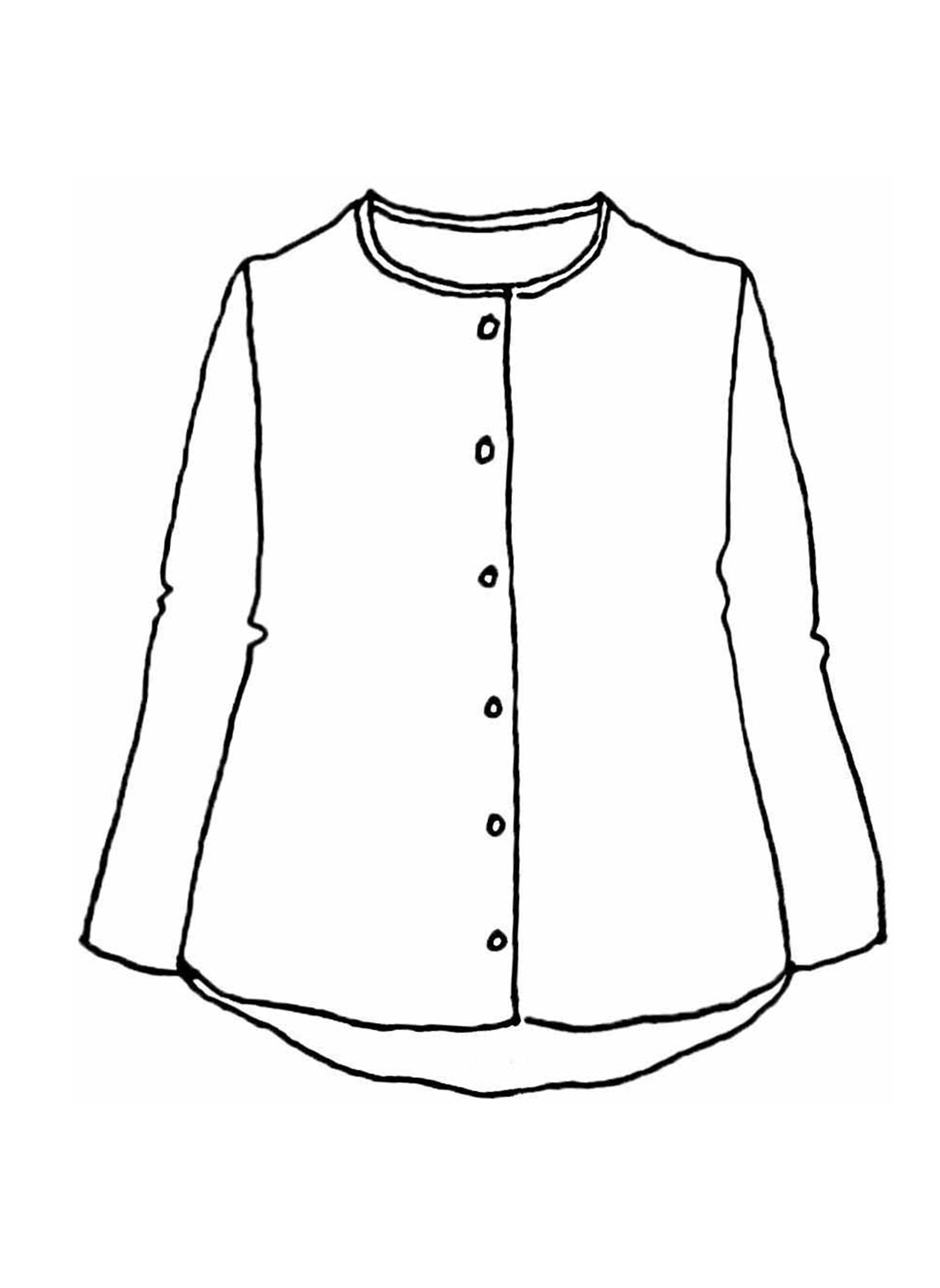 Discover Blouse sketch image