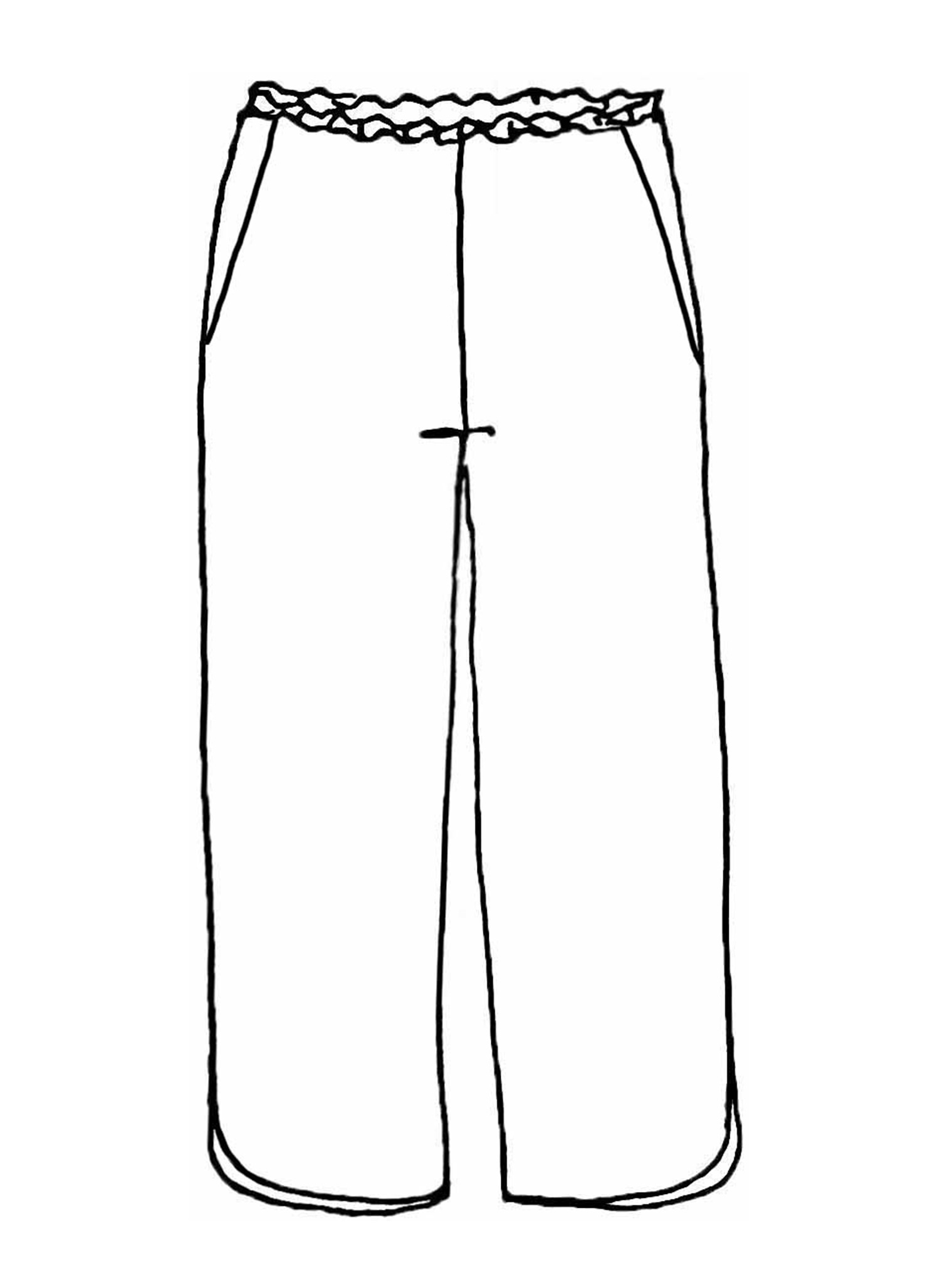 Shirttail Crop sketch image