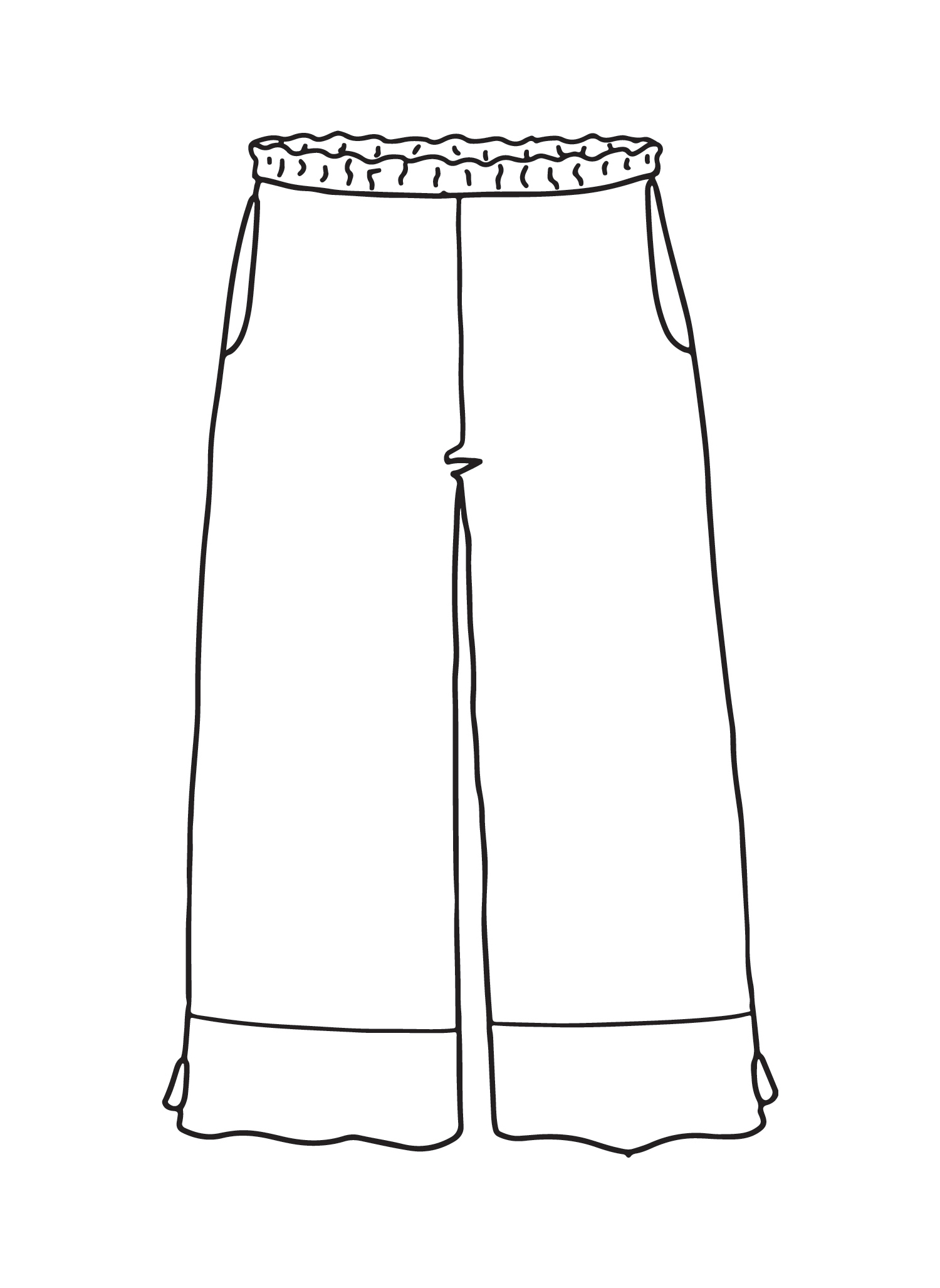Bloom Pant sketch image