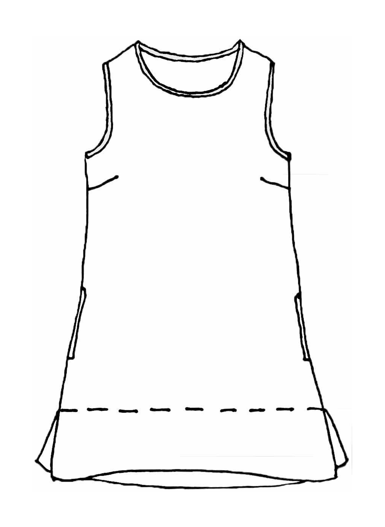 Roadie Tunic sketch image