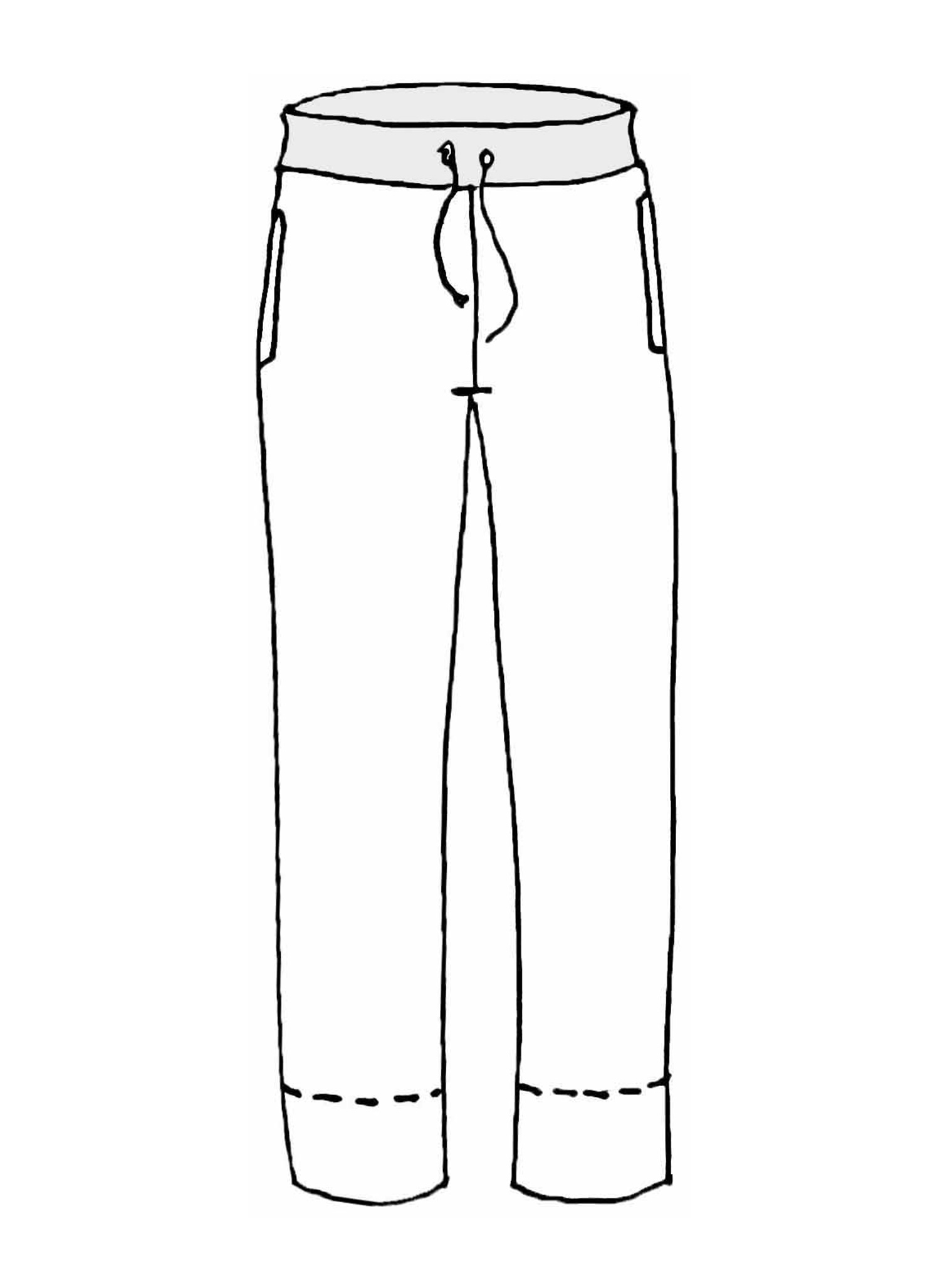 Cut Above Pant sketch image