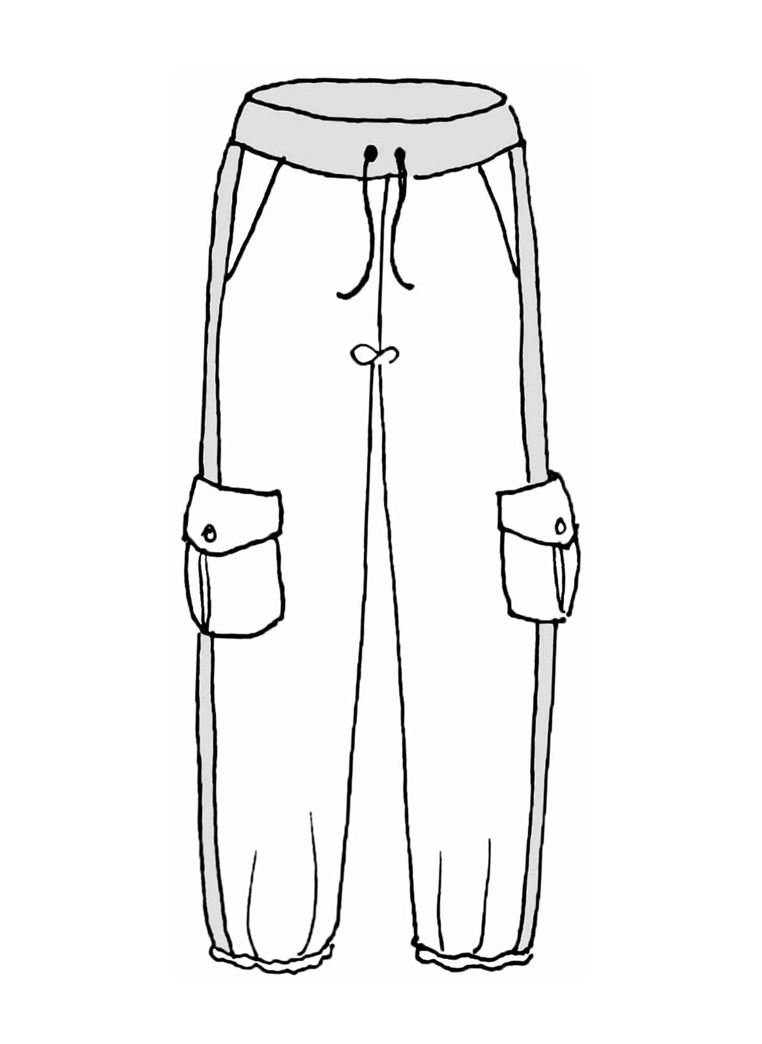 Base Pant sketch image