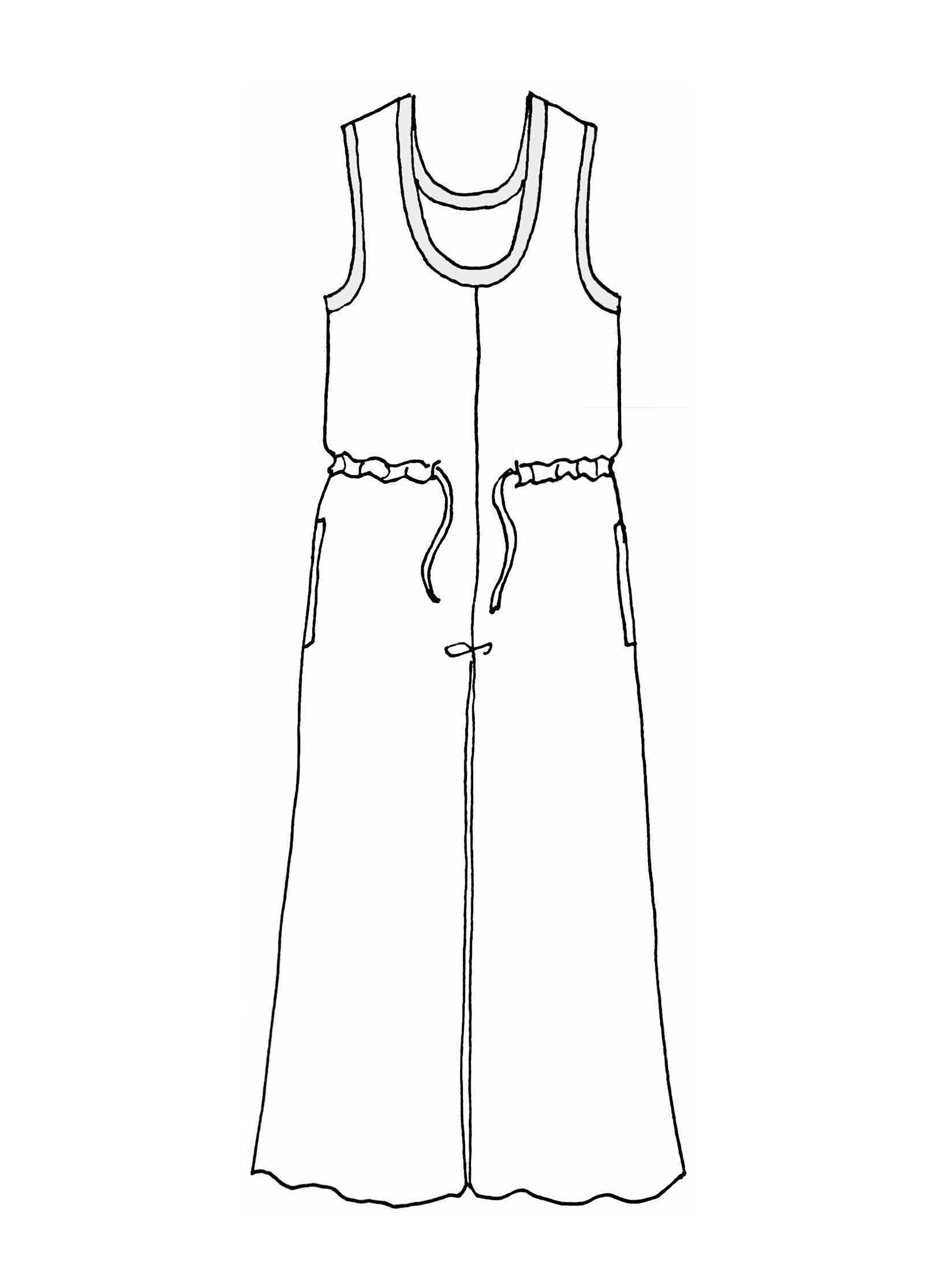Urban Jumpsuit sketch image