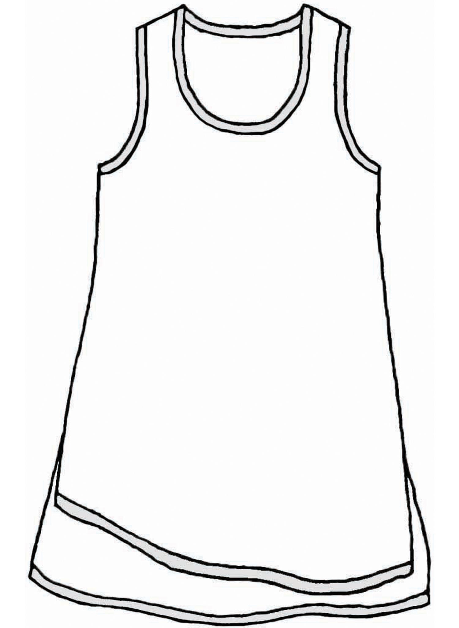 West Side Tunic sketch image